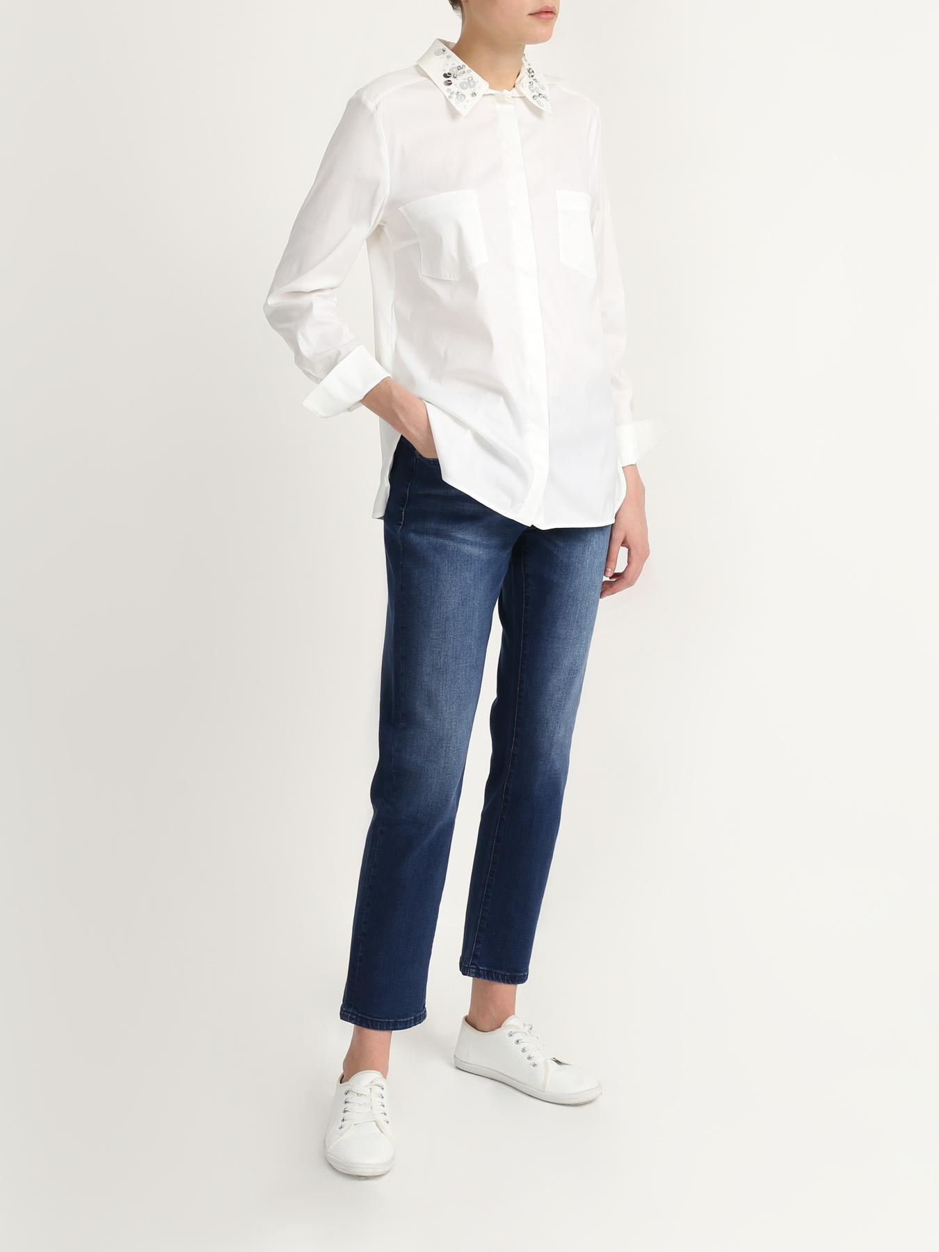 Брюки 6 P.M. Укороченные джинсы джинсы lime укороченные джинсы