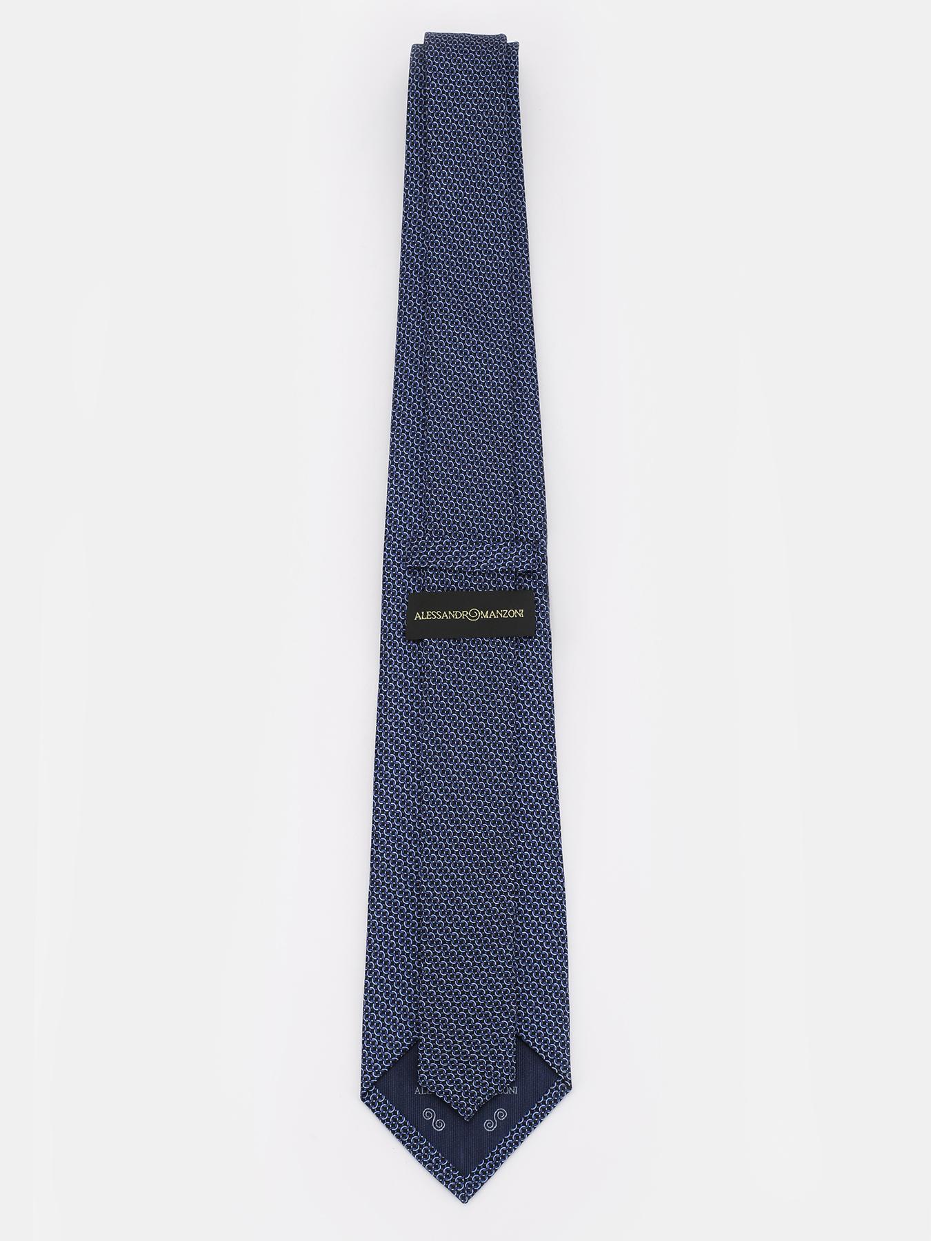 Alessandro Manzoni Шелковый галстук 312356-185 Фото 2