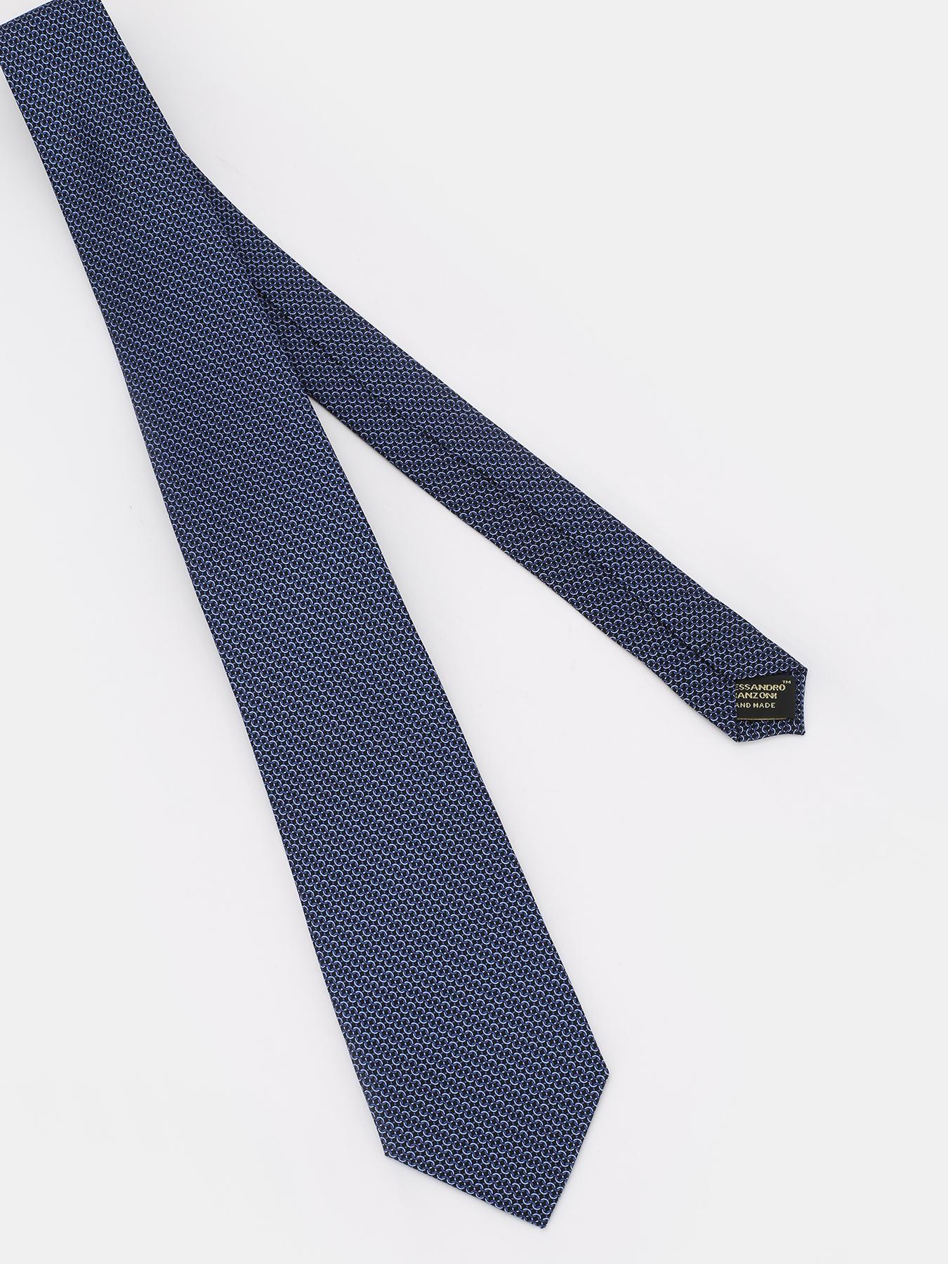 Alessandro Manzoni Шелковый галстук 312356-185 Фото 3