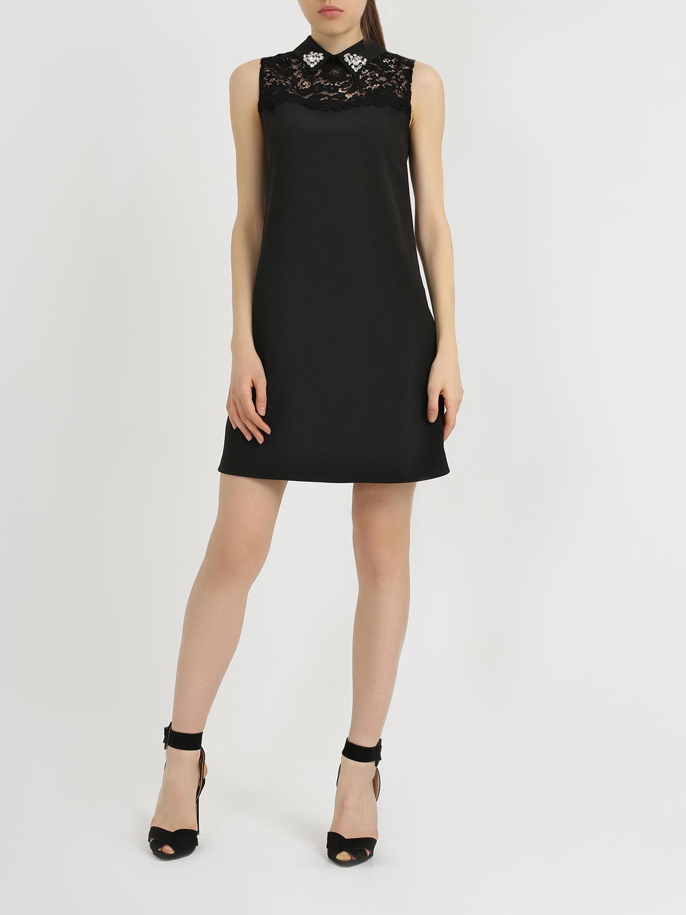Платье Blugirl Платье с кружевом платье berjer