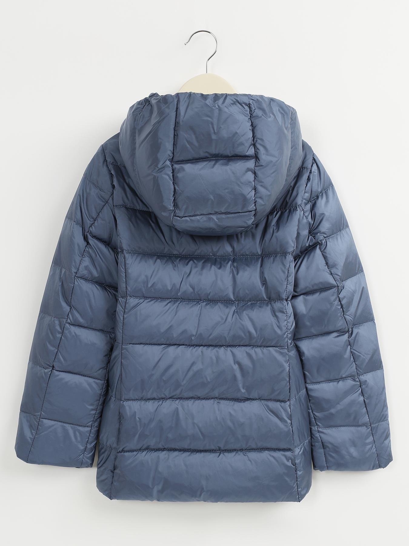Куртка Alessandro Manzoni Kids Стеганая куртка с капюшоном burberry children розовая стеганая куртка