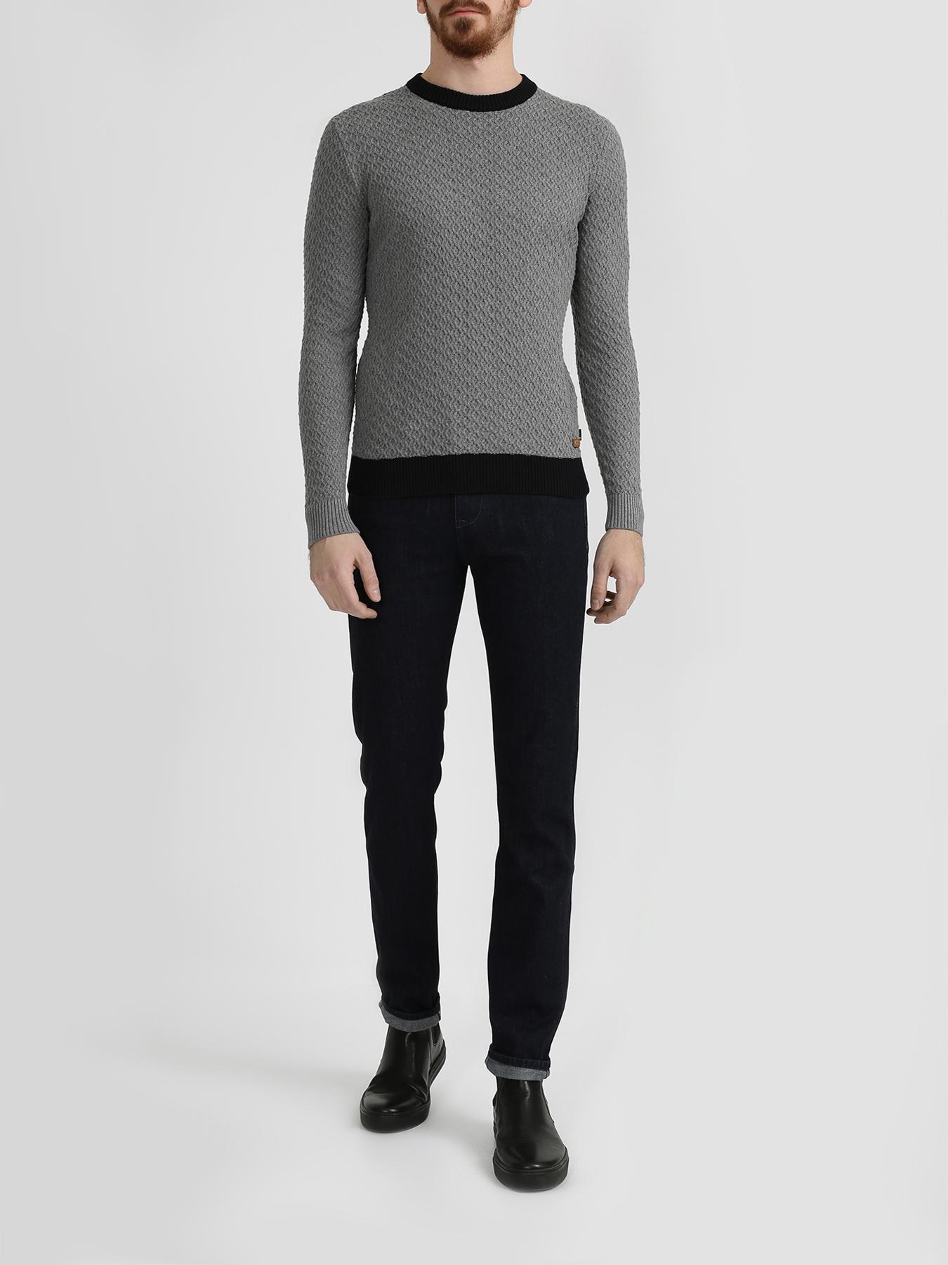 Alessandro Manzoni Jeans Хлопковый джемпер фото