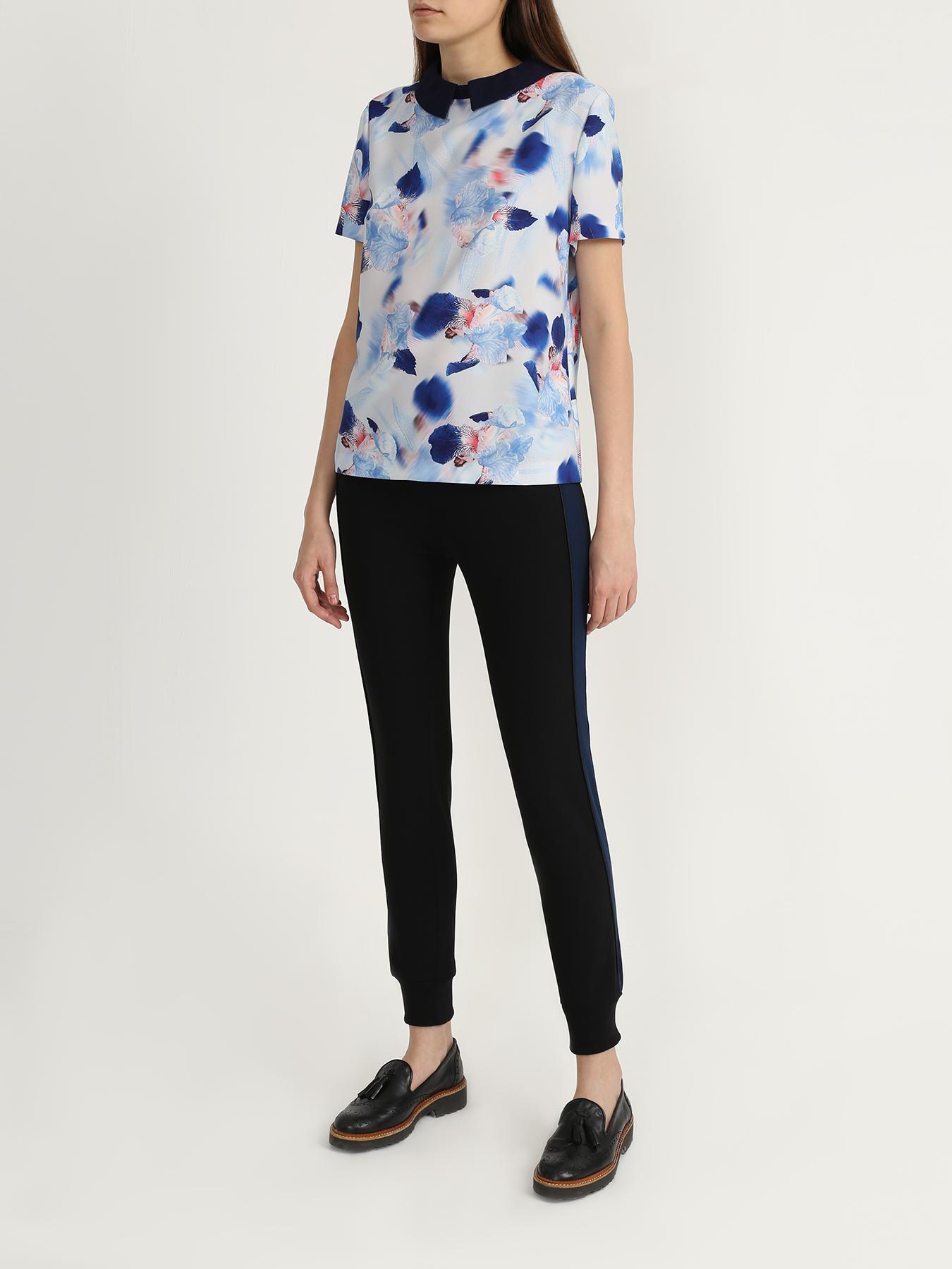 Блузка Korpo Блузка с воротом блузка lime блузка с завязками