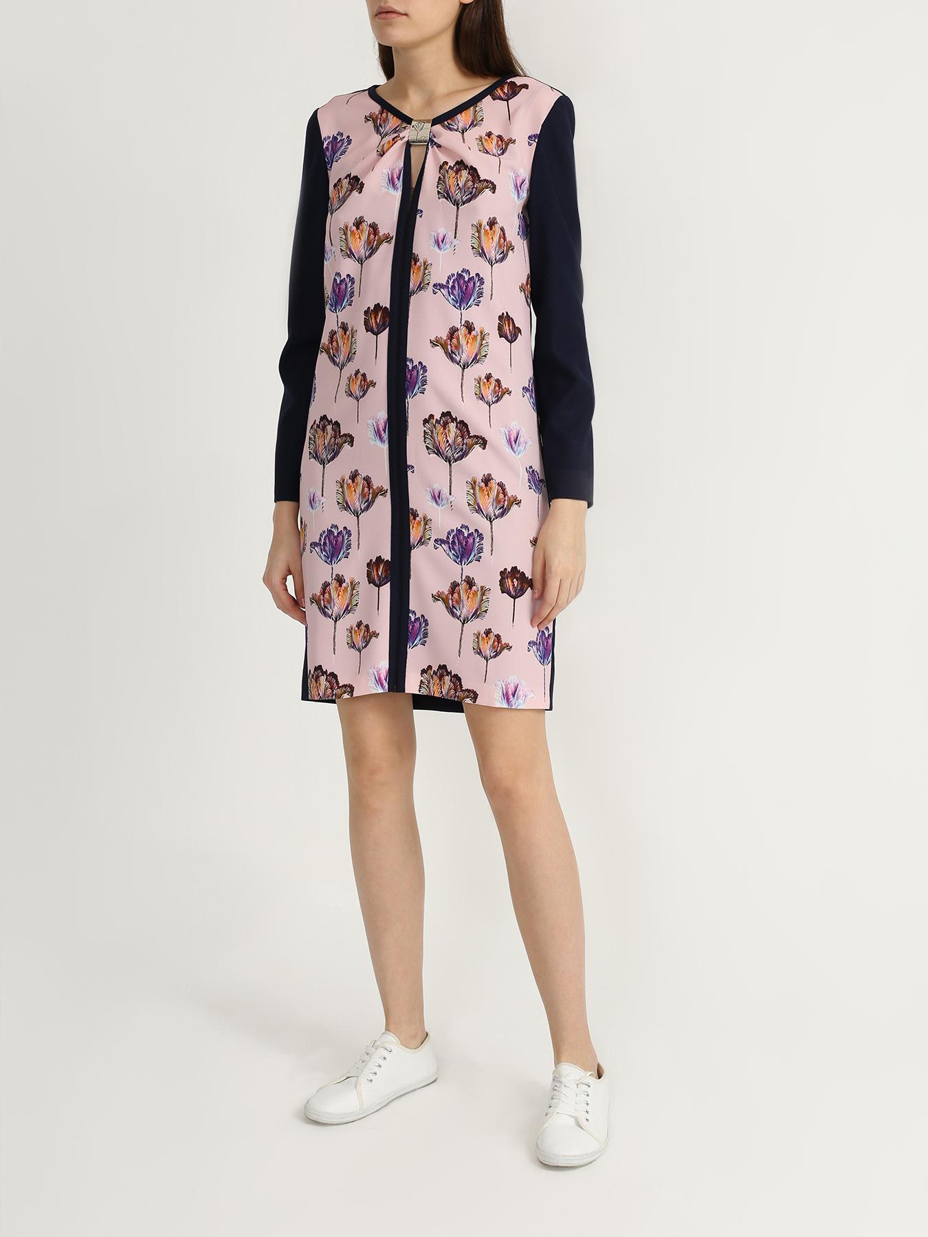 Korpo Платье с цветочными узорами фото