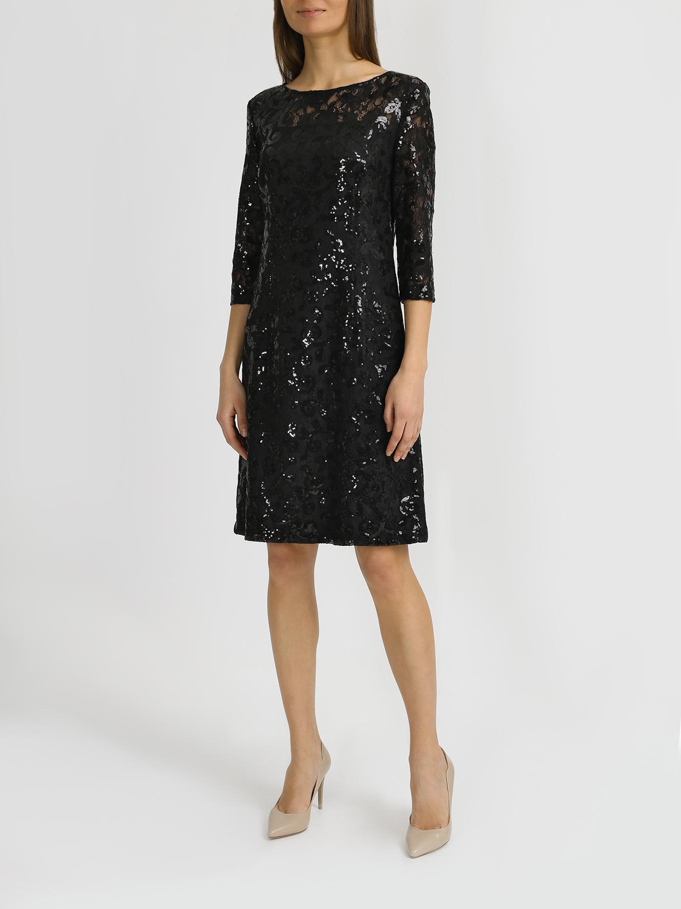 Платье Korpo Collezioni Кружевное платье с пайетками