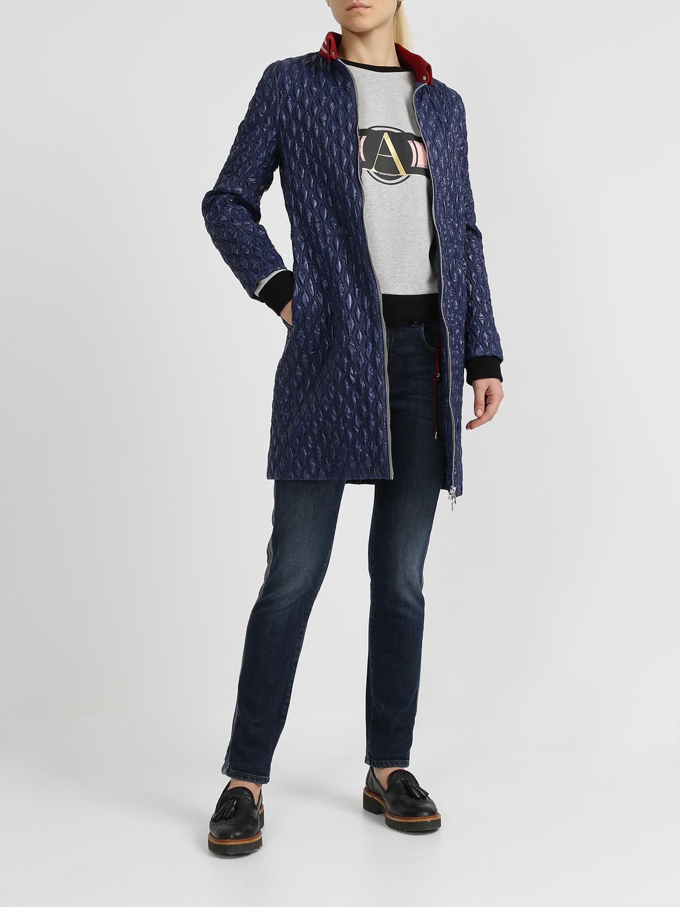Korpo Куртка с воротом в полоску фото