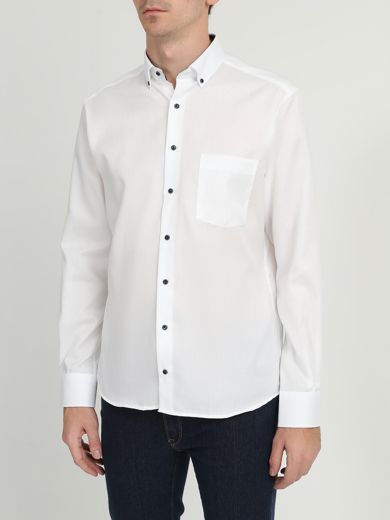 Eterna Eterna Рубашка с карманом