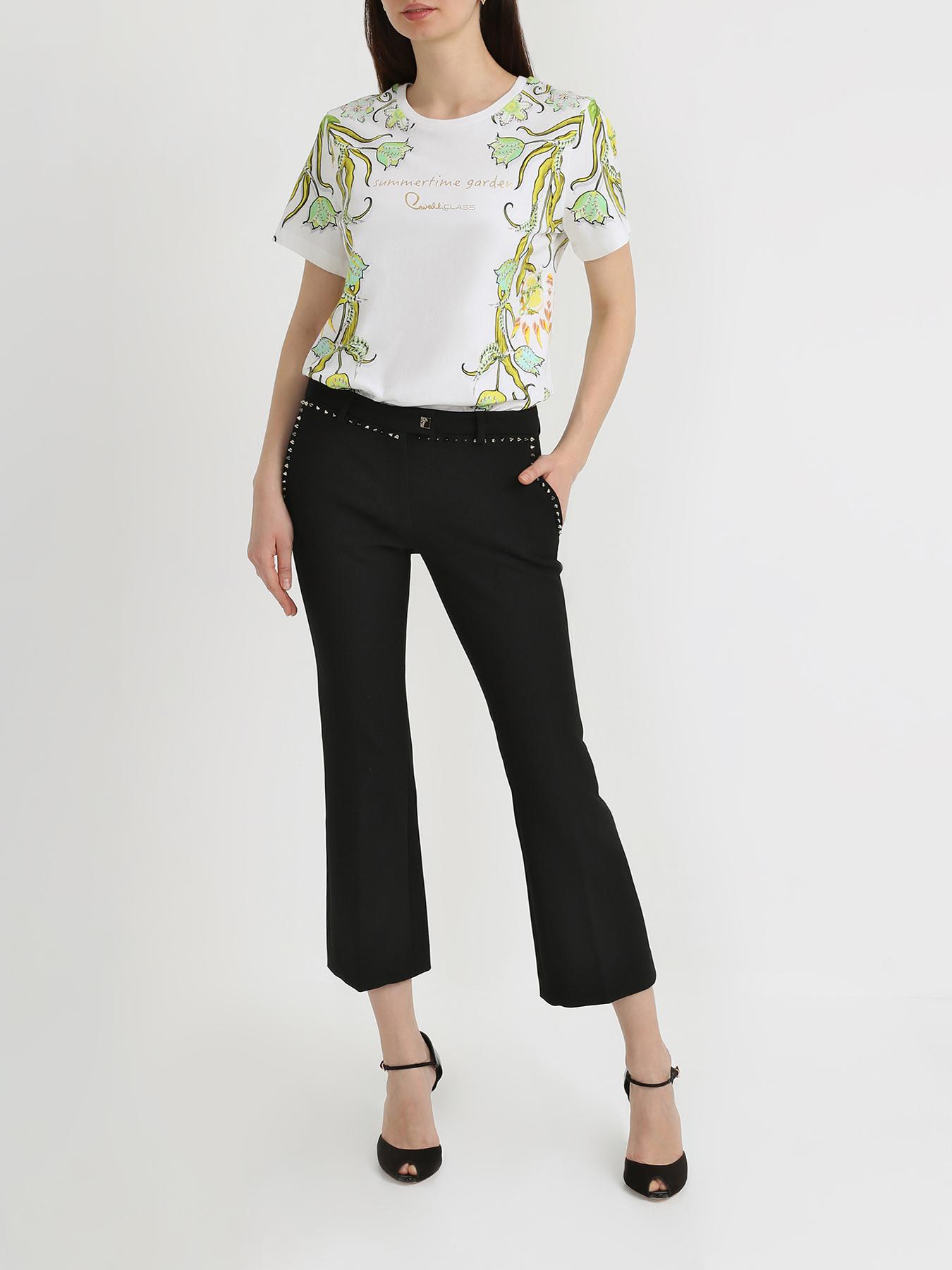 Брюки Versace collection Расклешенные брюки
