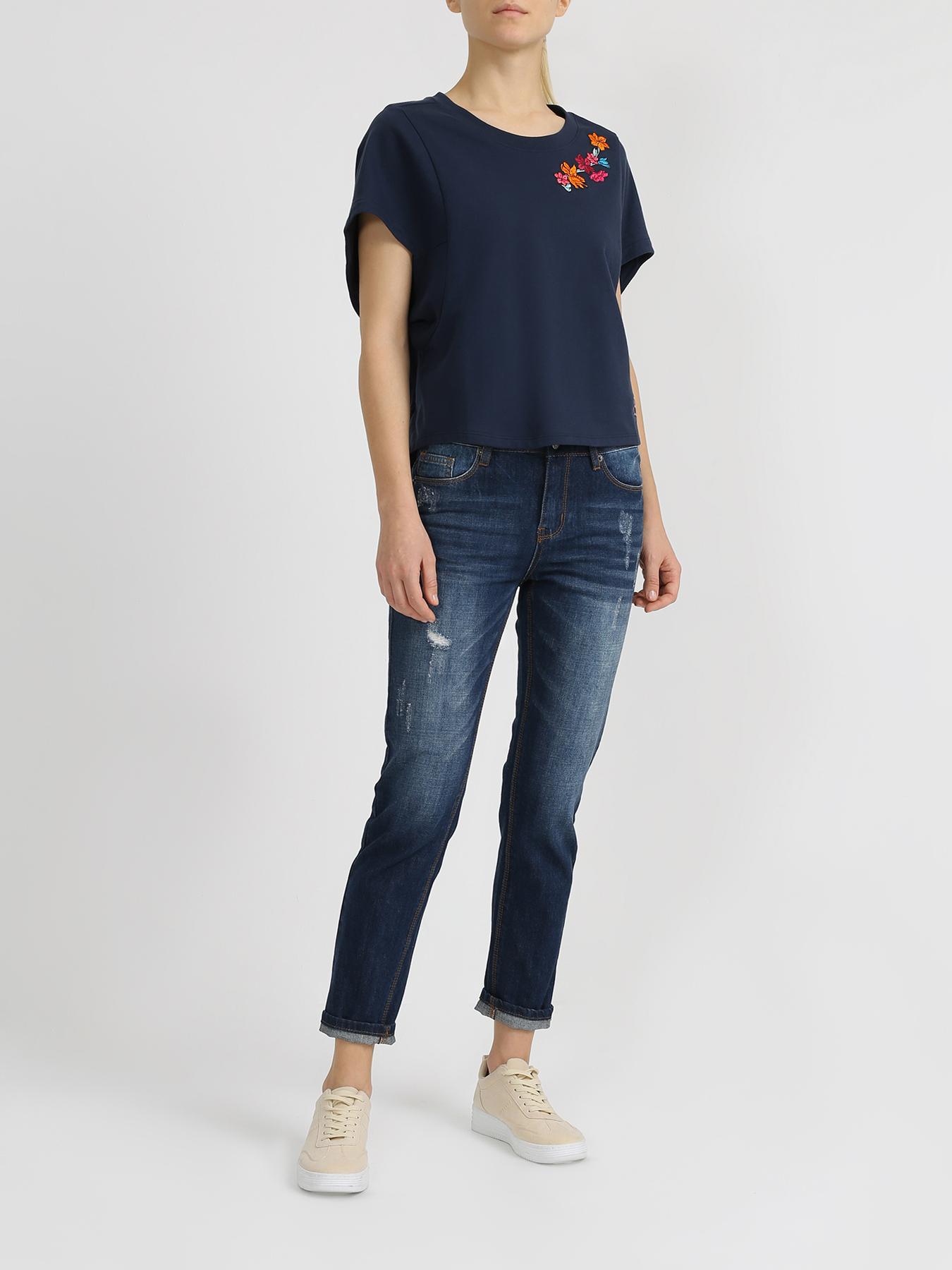 Брюки Alessandro Manzoni Укороченные джинсы джинсы lime укороченные джинсы