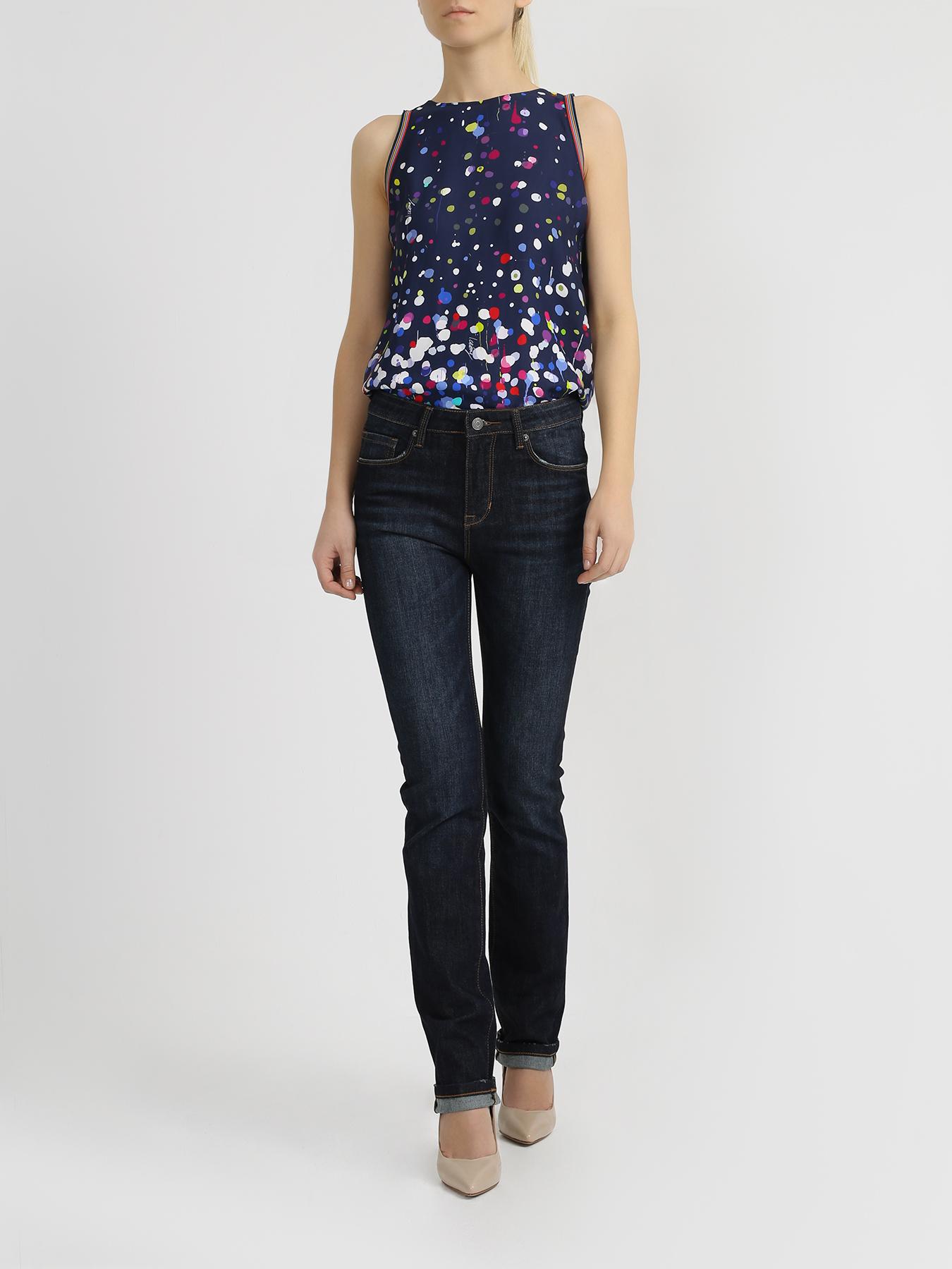 Брюки Alessandro Manzoni Женские узкие джинсы