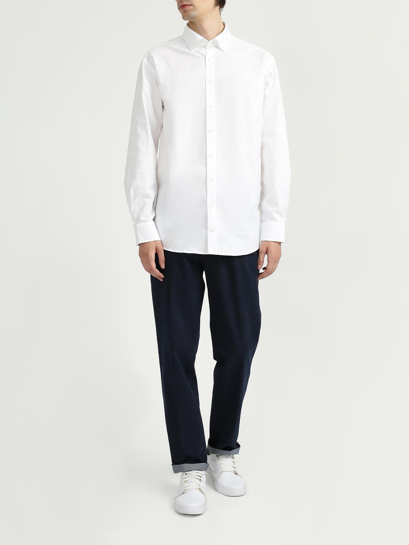 Рубашка Seidensticker Рубашка с длинным рукавом рубашка с длинным рукавом для деловых людей весенняя осень твердый цвет silm fit