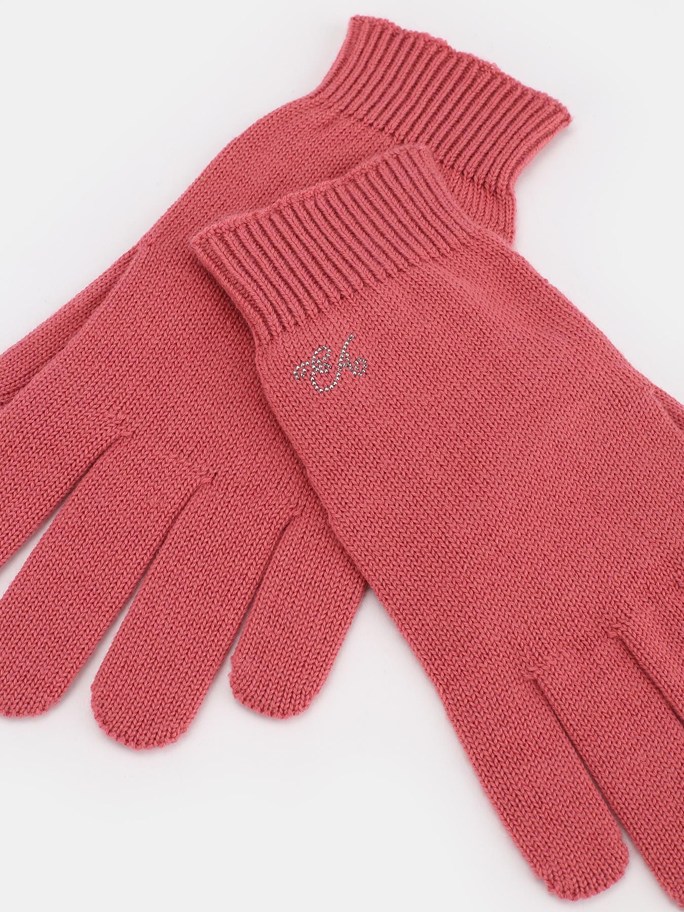 Перчатки Emporio Armani Тканевые перчатки