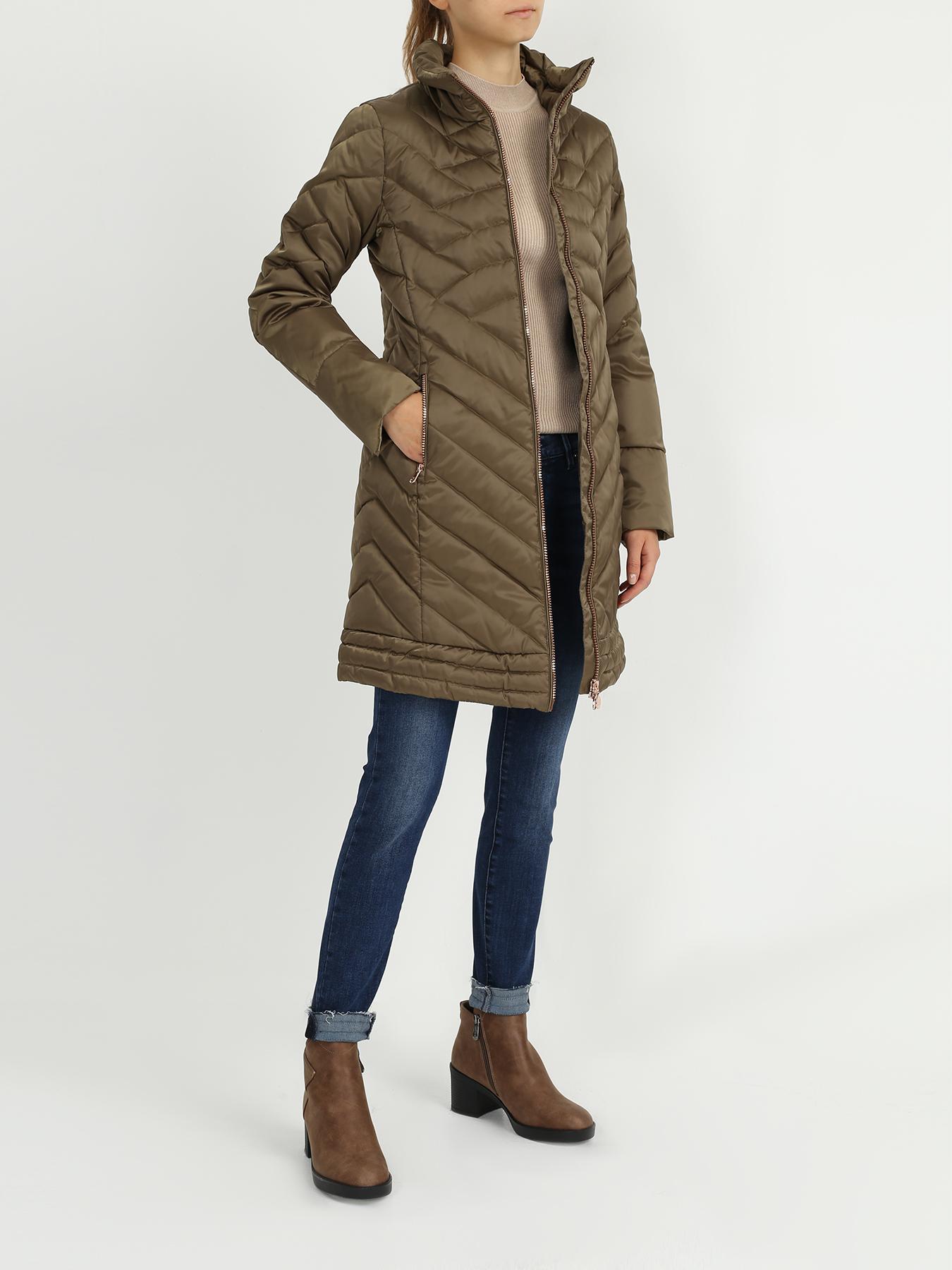 Пальто EA7 Emporio Armani Удлиненная куртка пальто emporio armani черный