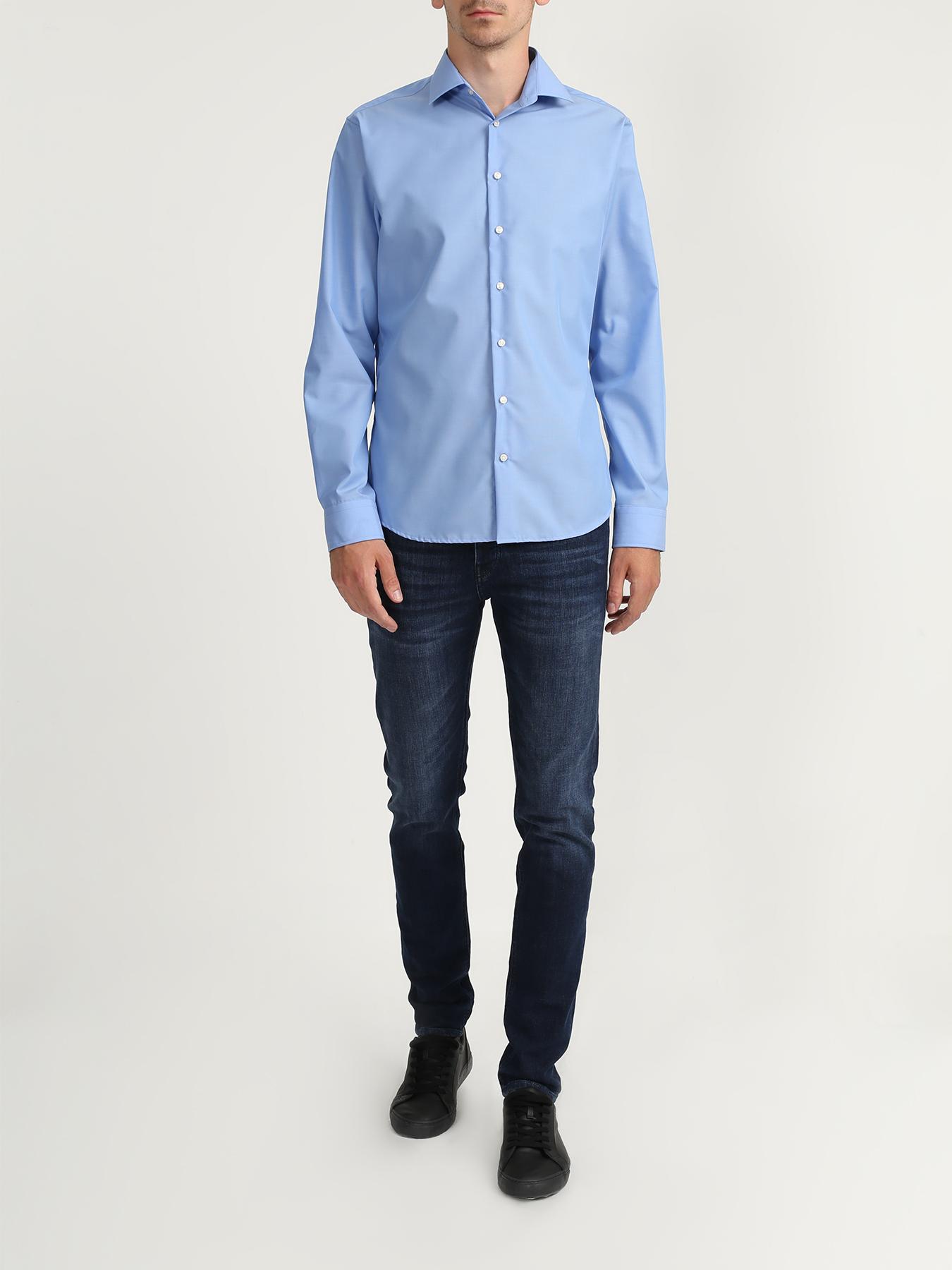 Seidensticker Хлопковая рубашка без карманов 322561-021