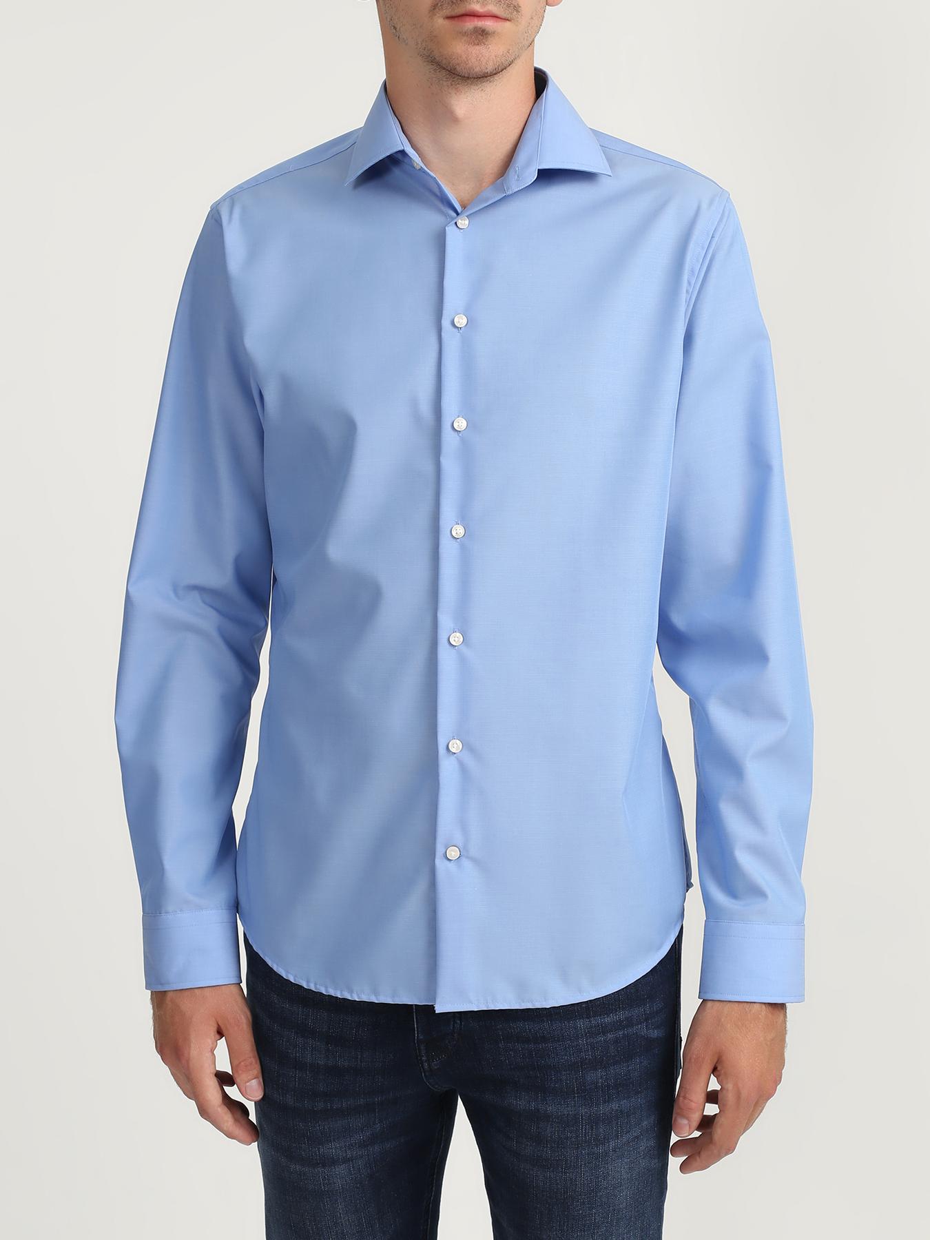 Seidensticker Хлопковая рубашка без карманов 322561-021 Фото 2