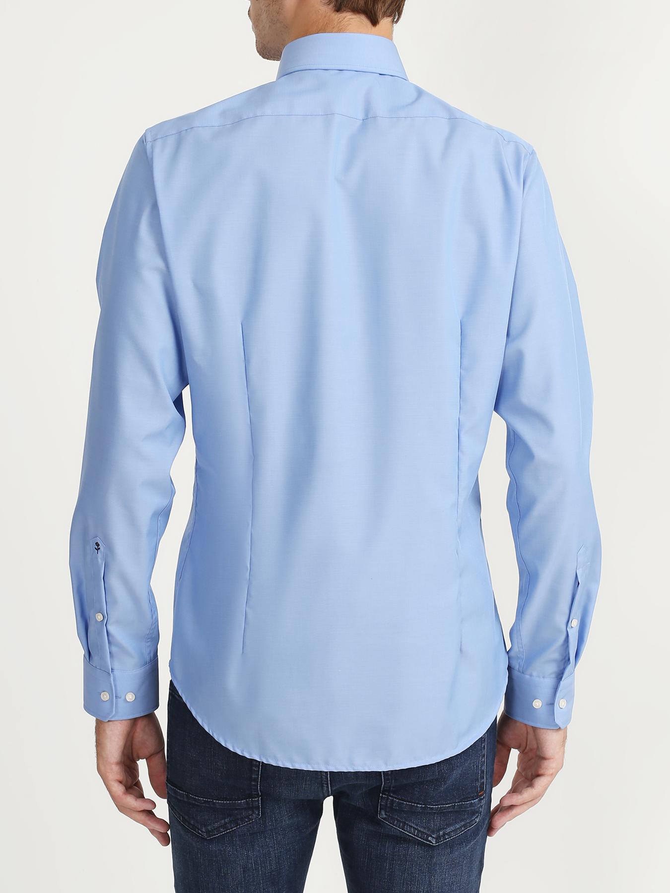 Seidensticker Хлопковая рубашка без карманов 322561-021 Фото 3