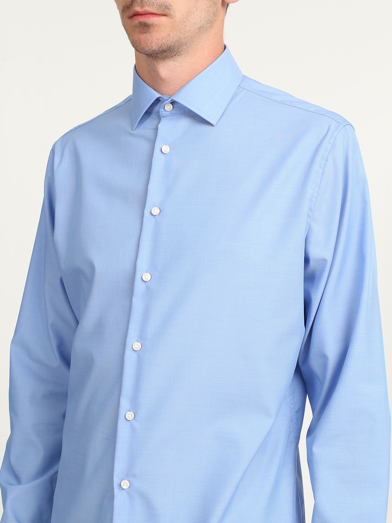 Seidensticker Хлопковая рубашка без карманов 322561-021 Фото 4