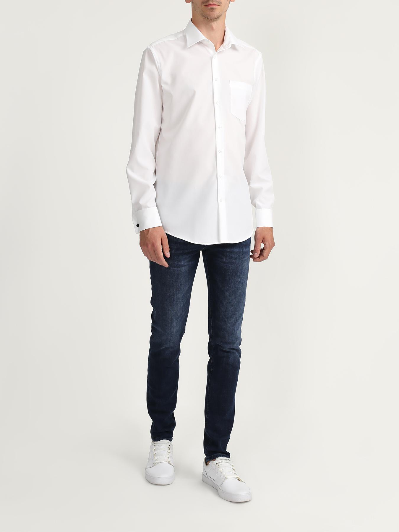 Фото - Рубашка Seidensticker Хлопковая рубашка с карманом рубашка lime рубашка с карманом