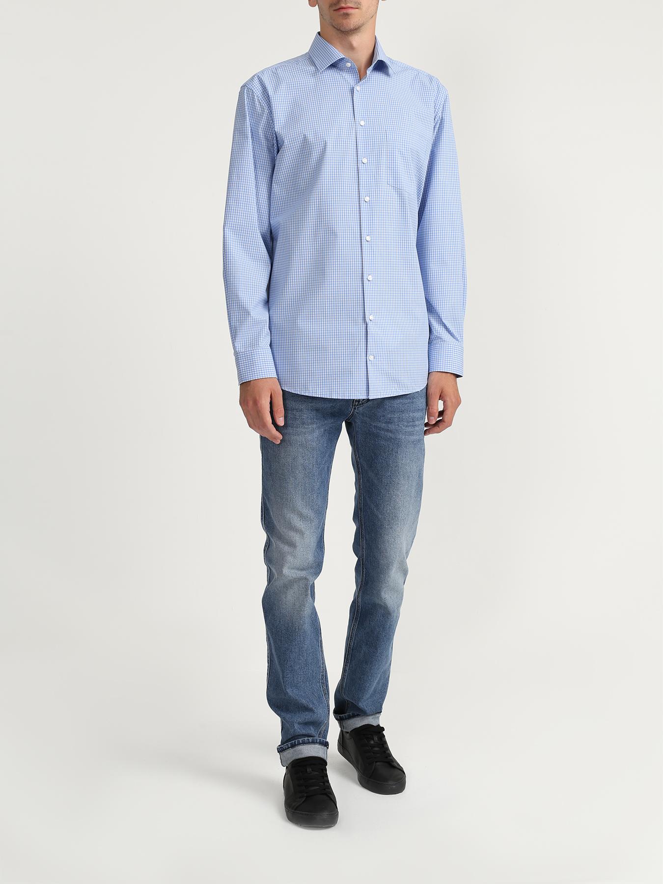 Рубашка Seidensticker Хлопковая рубашка в клетку