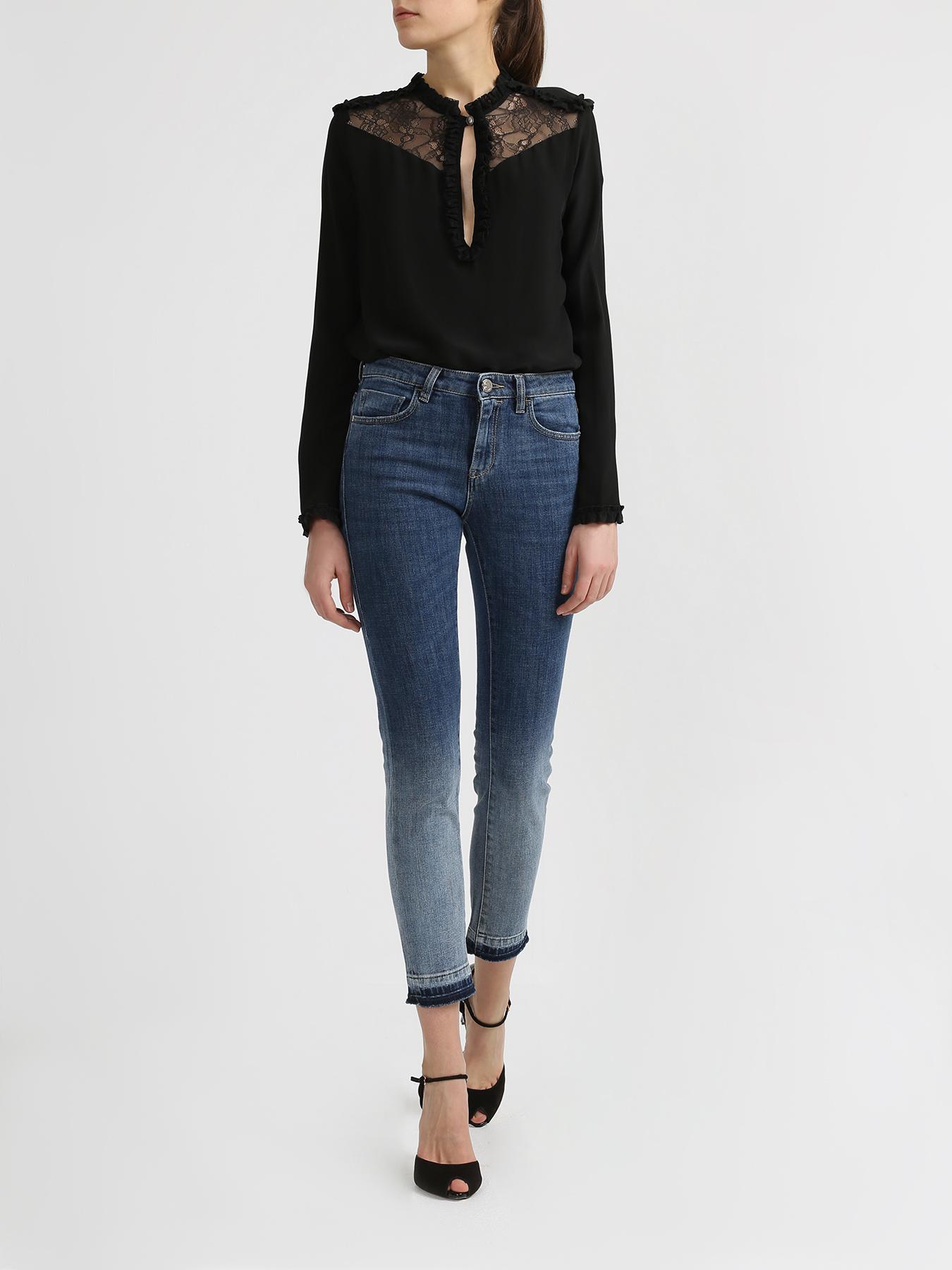 Брюки Pinko Укороченные джинсы джинсы lime укороченные джинсы