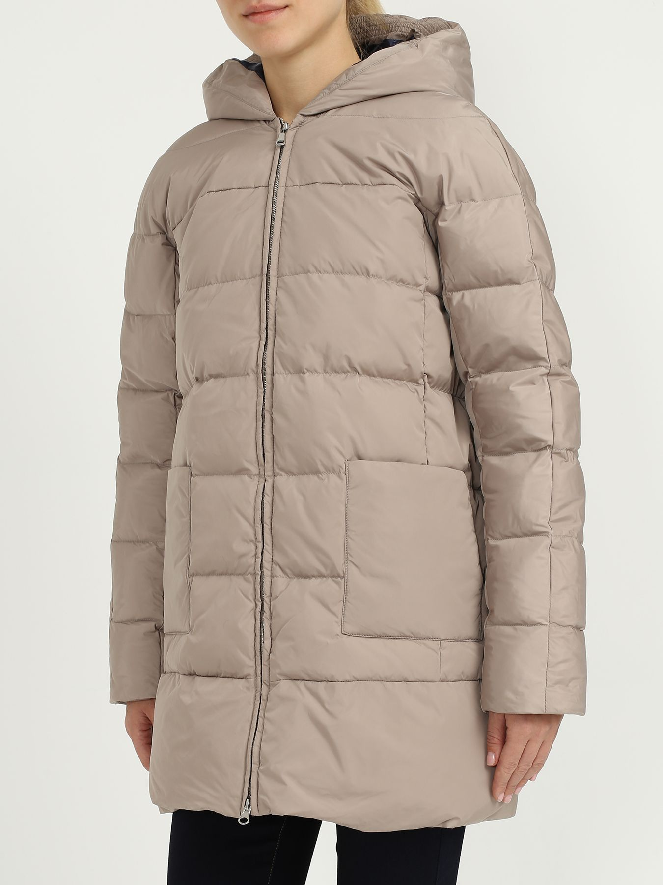 Куртки Korpo Collezioni Пуховик с капюшоном