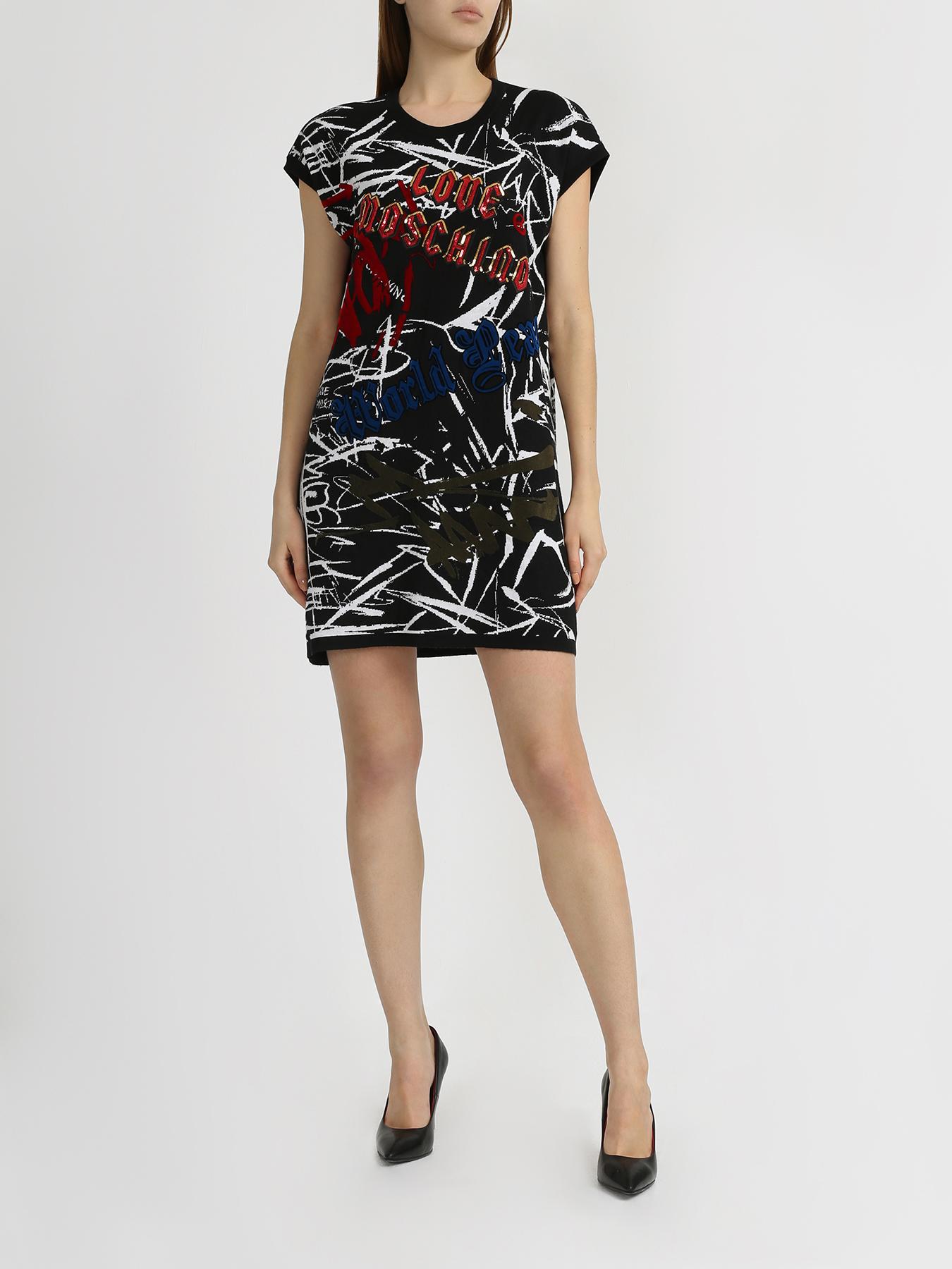Платье Love Moschino Короткое платье ypno короткое платье