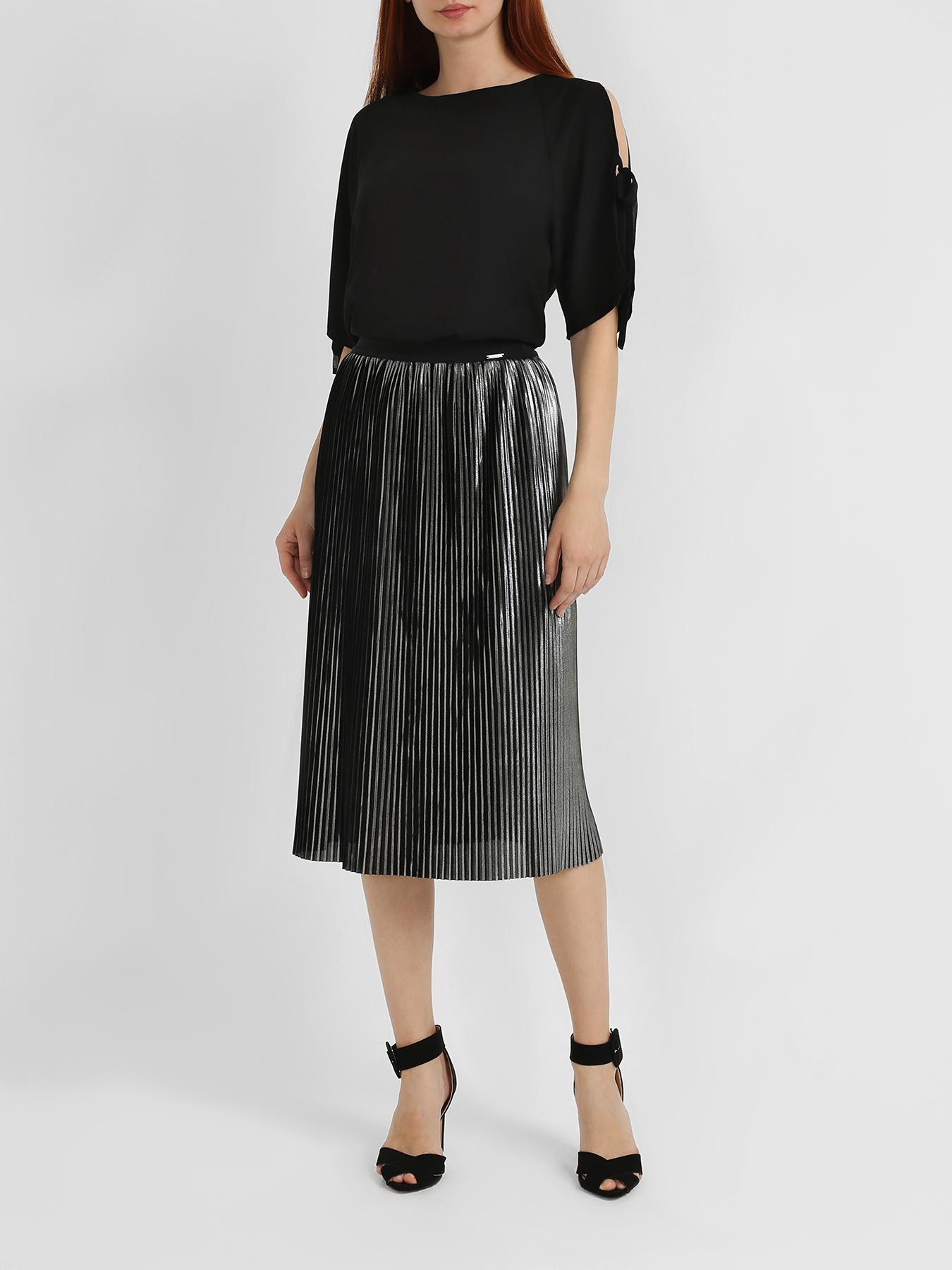 Юбка Liu Jo Плиссированная юбка юбка liu jo liu jo li687ewhrhf4