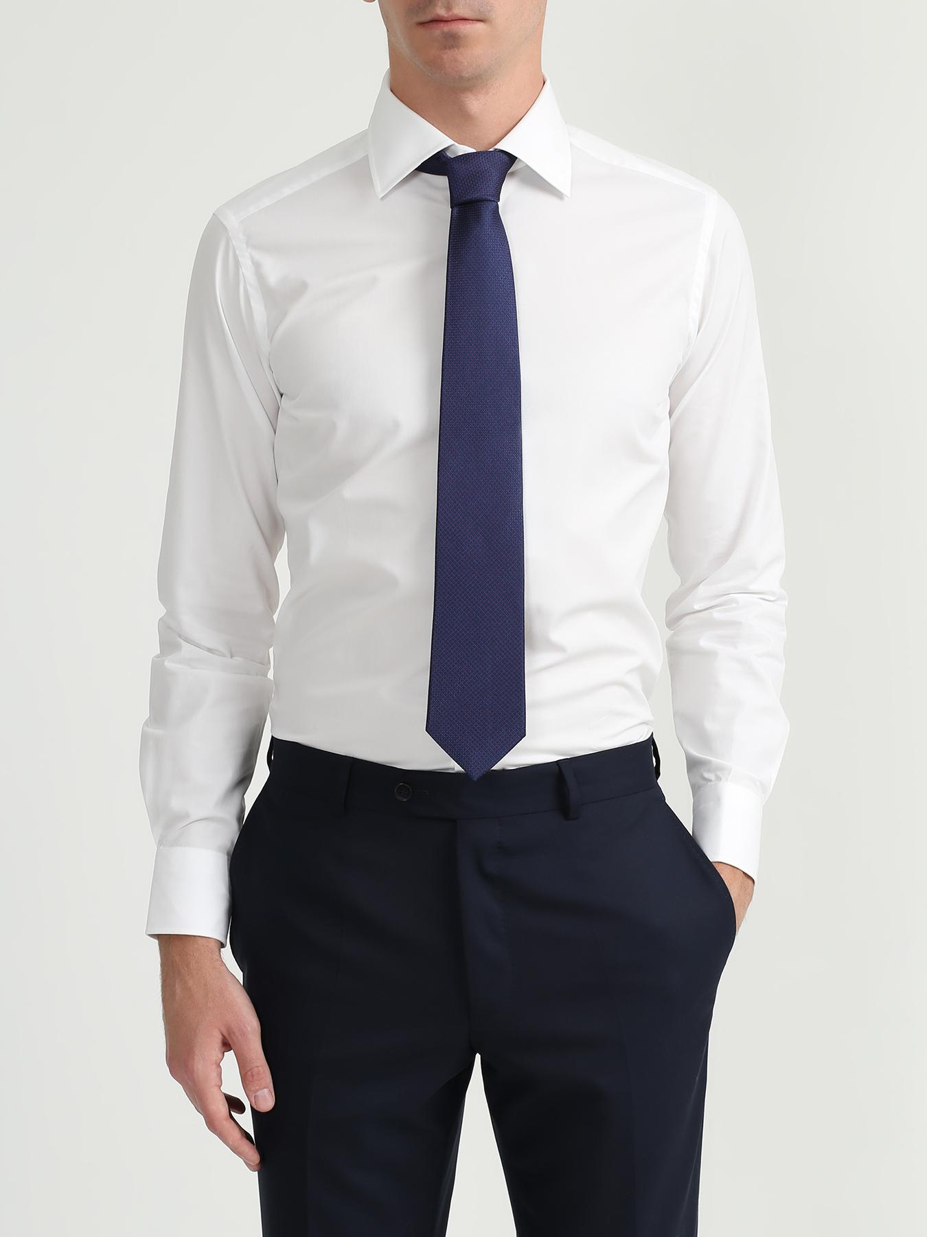 Alessandro Manzoni Шелковый галстук с узорами 324186-185