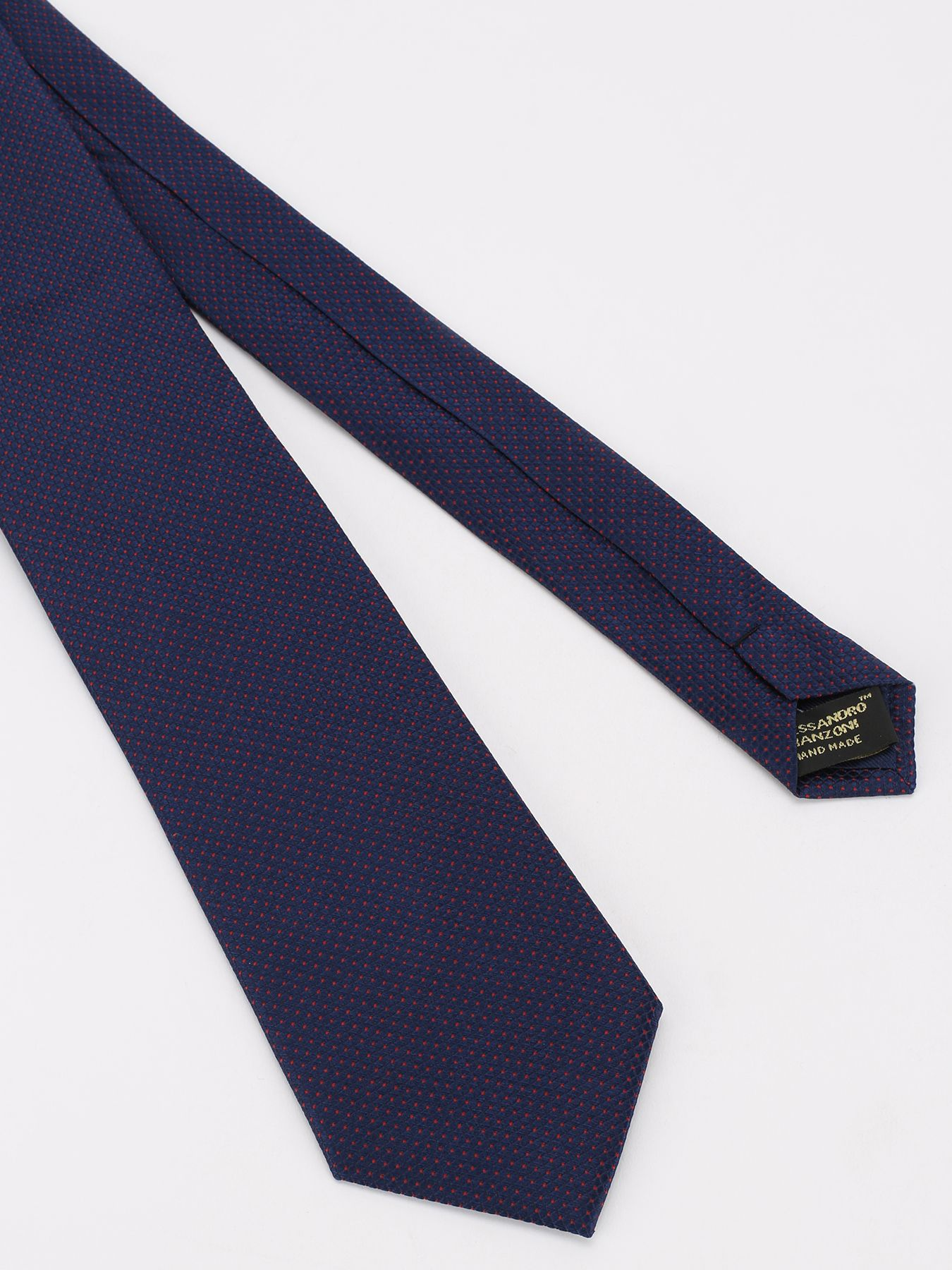 Alessandro Manzoni Шелковый галстук с узорами 324186-185 Фото 3