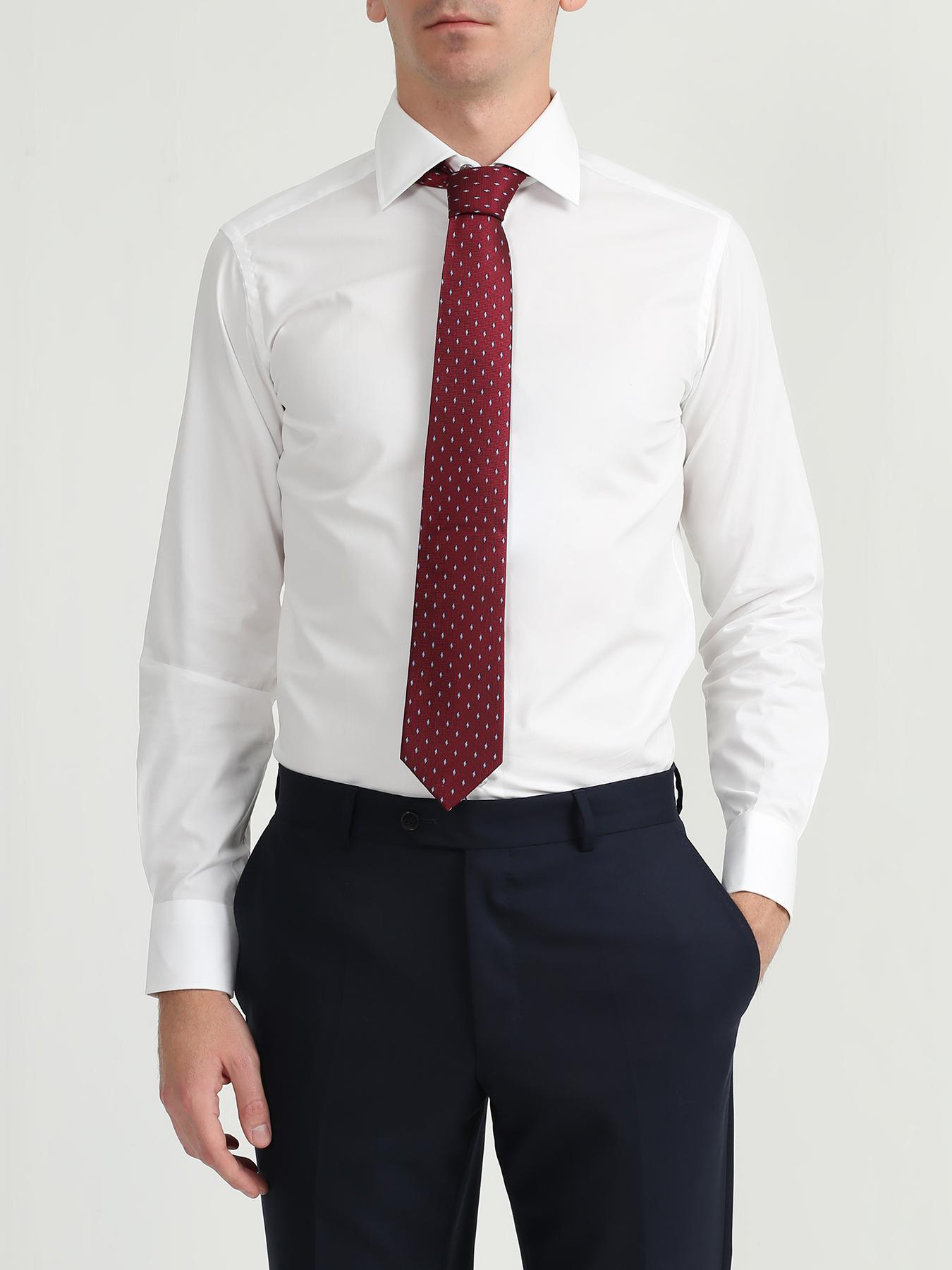 Alessandro Manzoni Шелковый галстук с узорами 324187-185