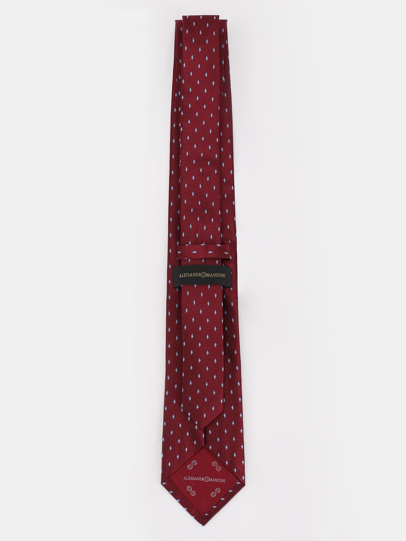 Alessandro Manzoni Шелковый галстук с узорами 324187-185 Фото 2