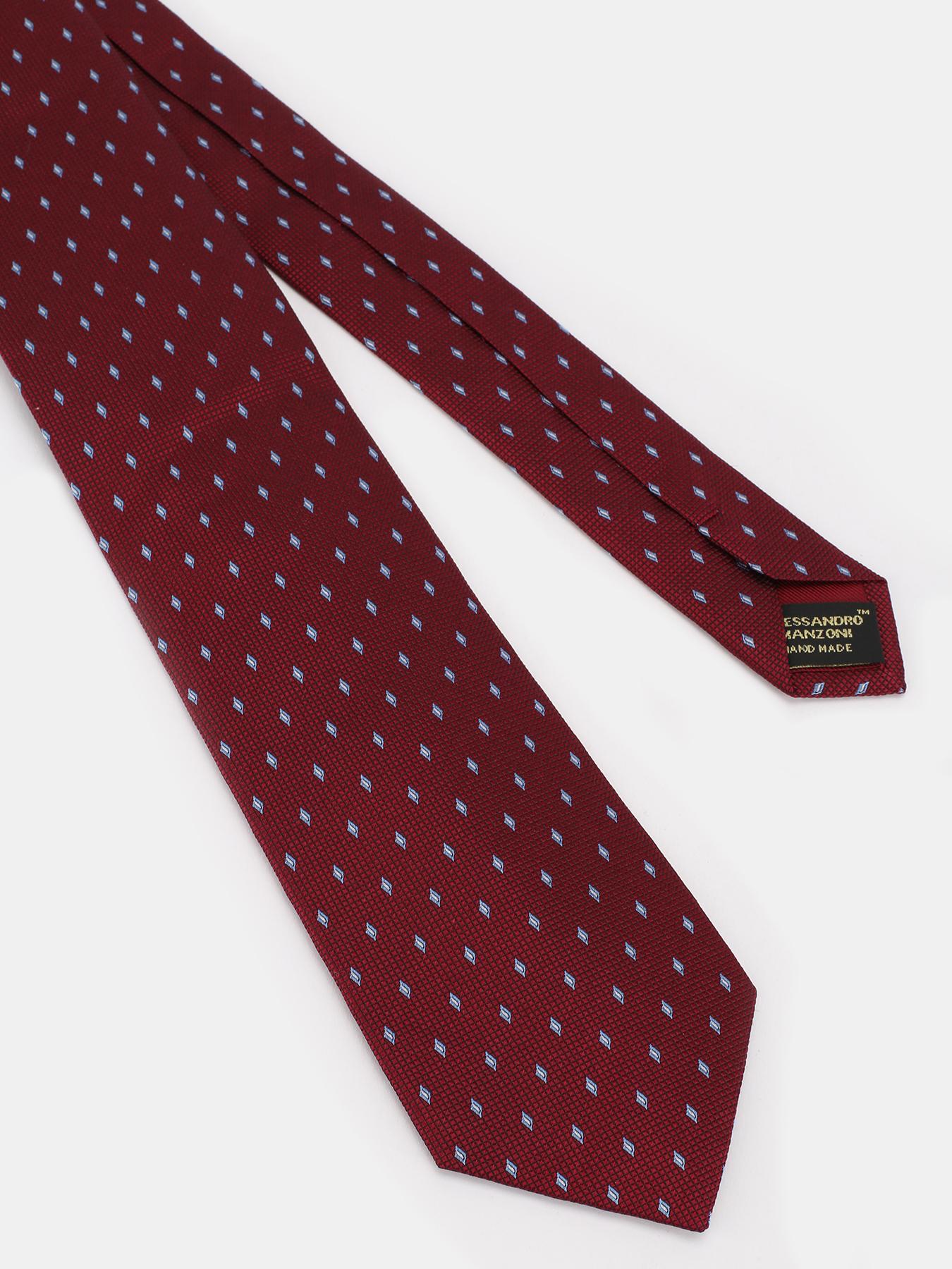 Alessandro Manzoni Шелковый галстук с узорами 324187-185 Фото 3