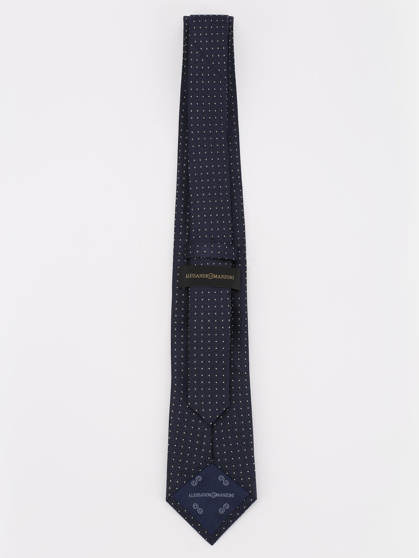 Alessandro Manzoni Шелковый галстук с узорами 324190-185 Фото 2