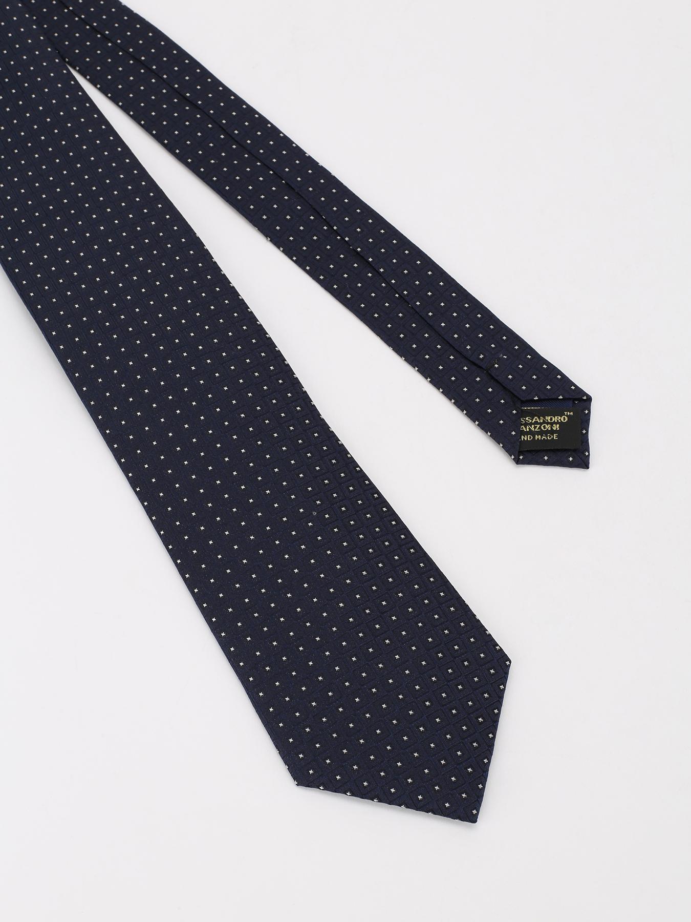 Alessandro Manzoni Шелковый галстук с узорами 324190-185 Фото 3