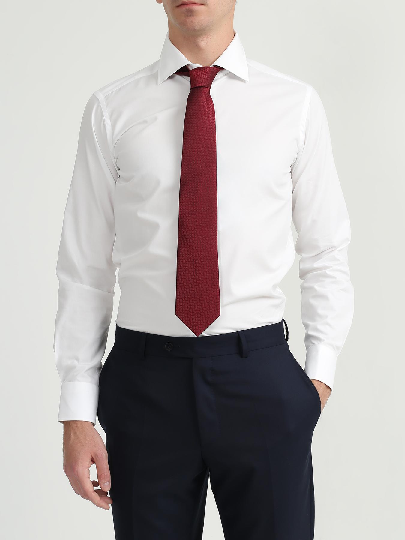 Alessandro Manzoni Шелковый галстук с узорами 324195-185