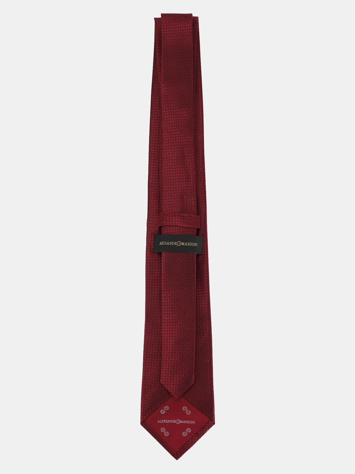 Alessandro Manzoni Шелковый галстук с узорами 324195-185 Фото 2