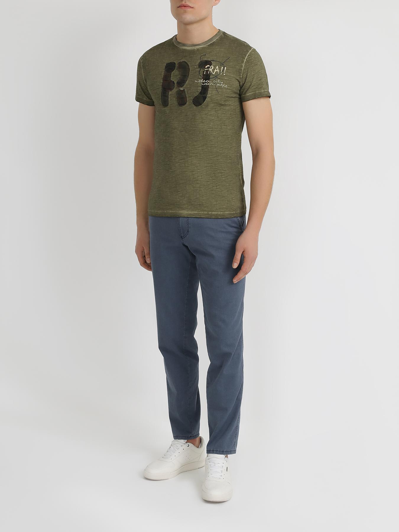 Фуфайка Ritter Jeans Хлопковая футболка brioni хлопковая футболка