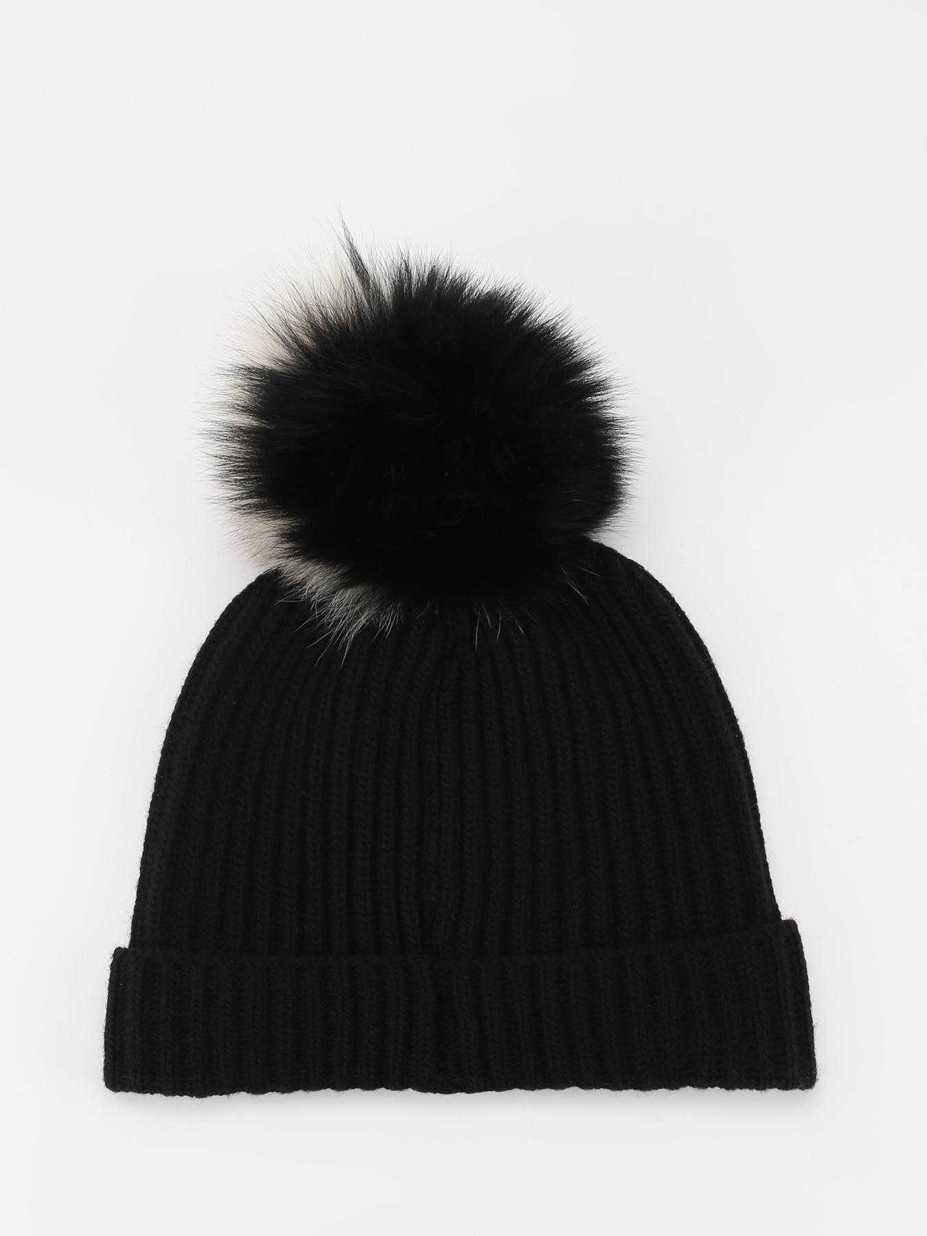 Шапка Woolrich Шапка с помпоном шапка fabretti шапка