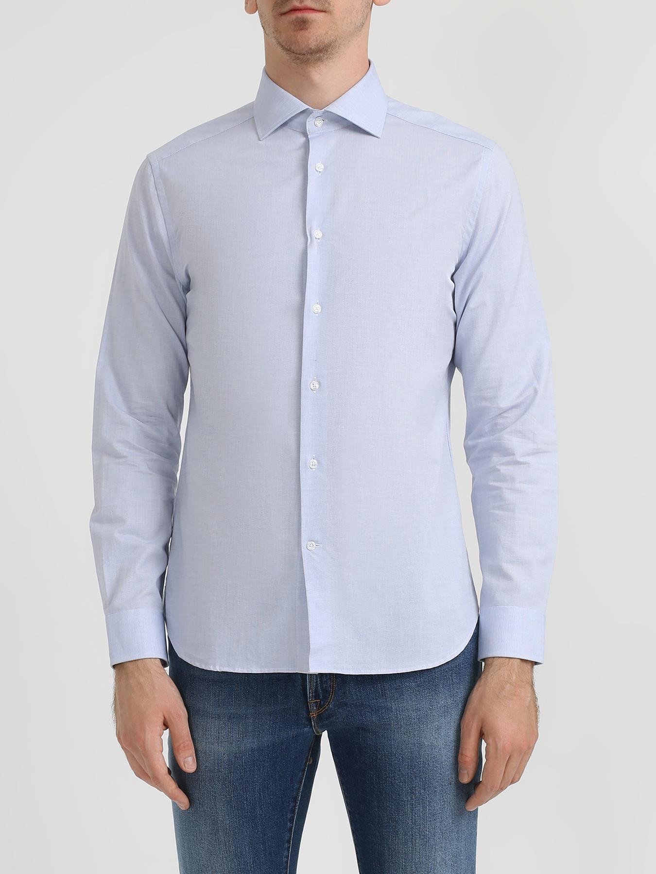 CC collection Corneliani Однотонная рубашка