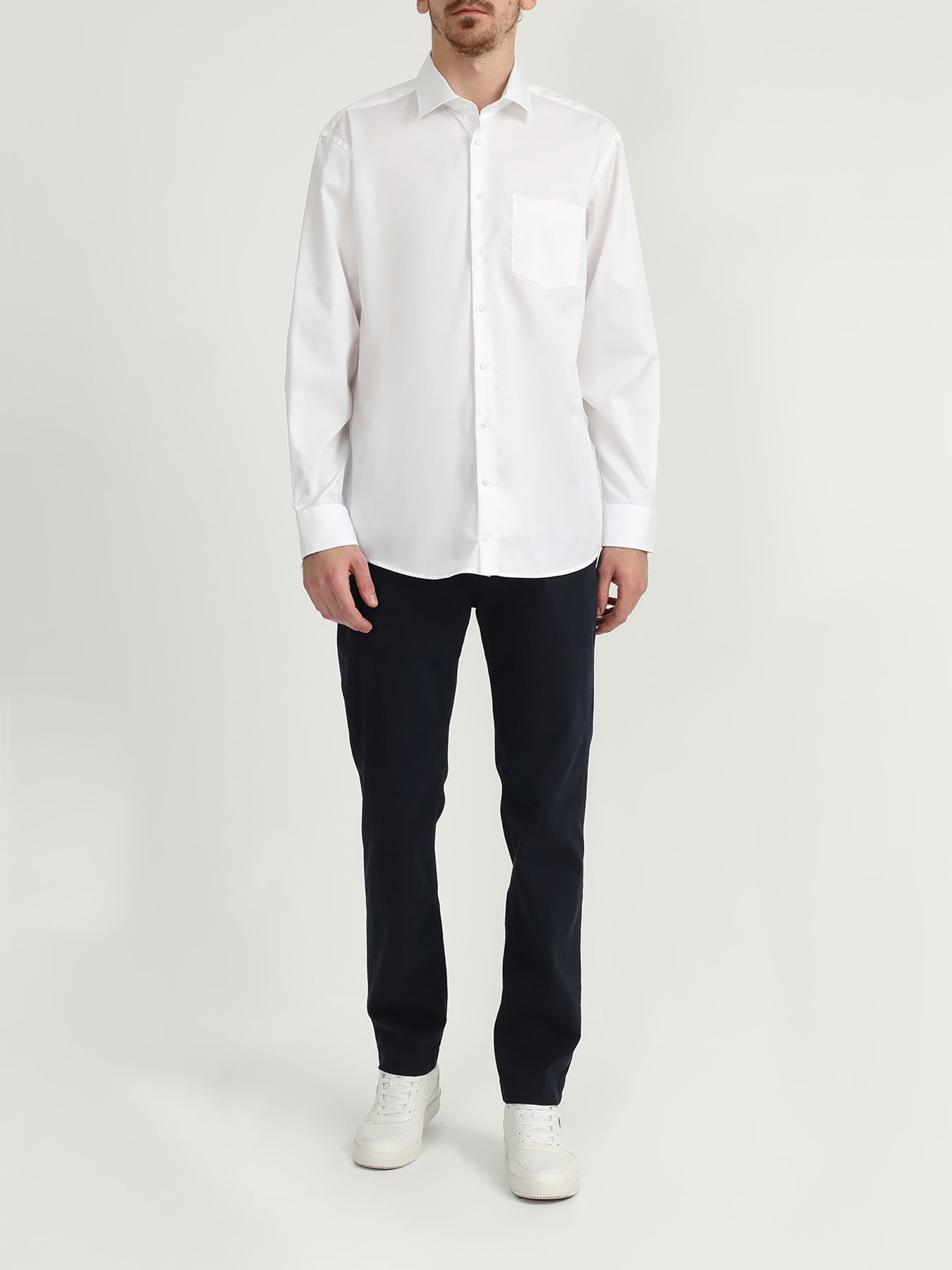 Фото - Рубашка Seidensticker Рубашка с нагрудным карманом рубашка lime рубашка с карманом