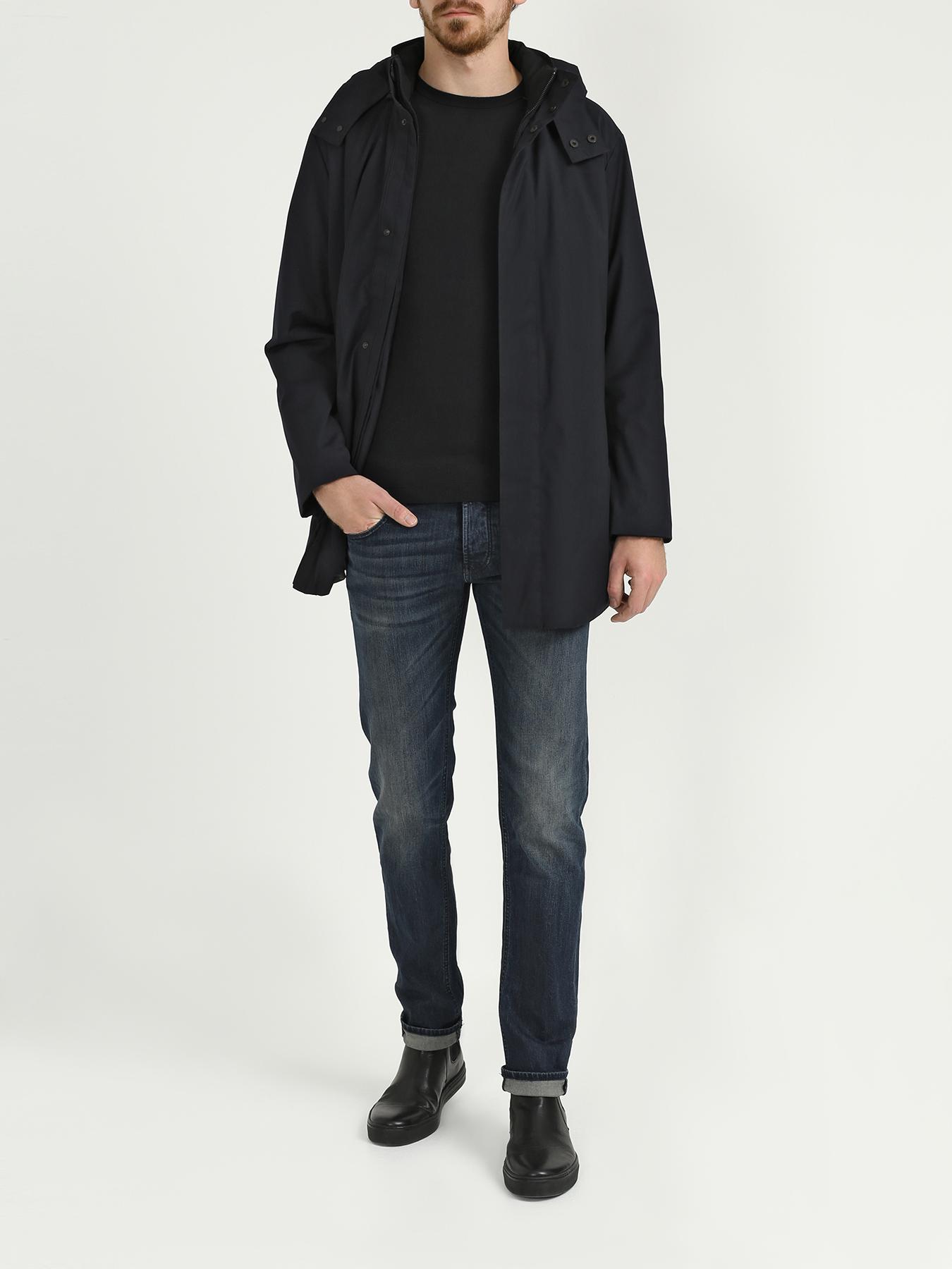 Пальто Emporio Armani Мужская куртка пальто emporio armani черный