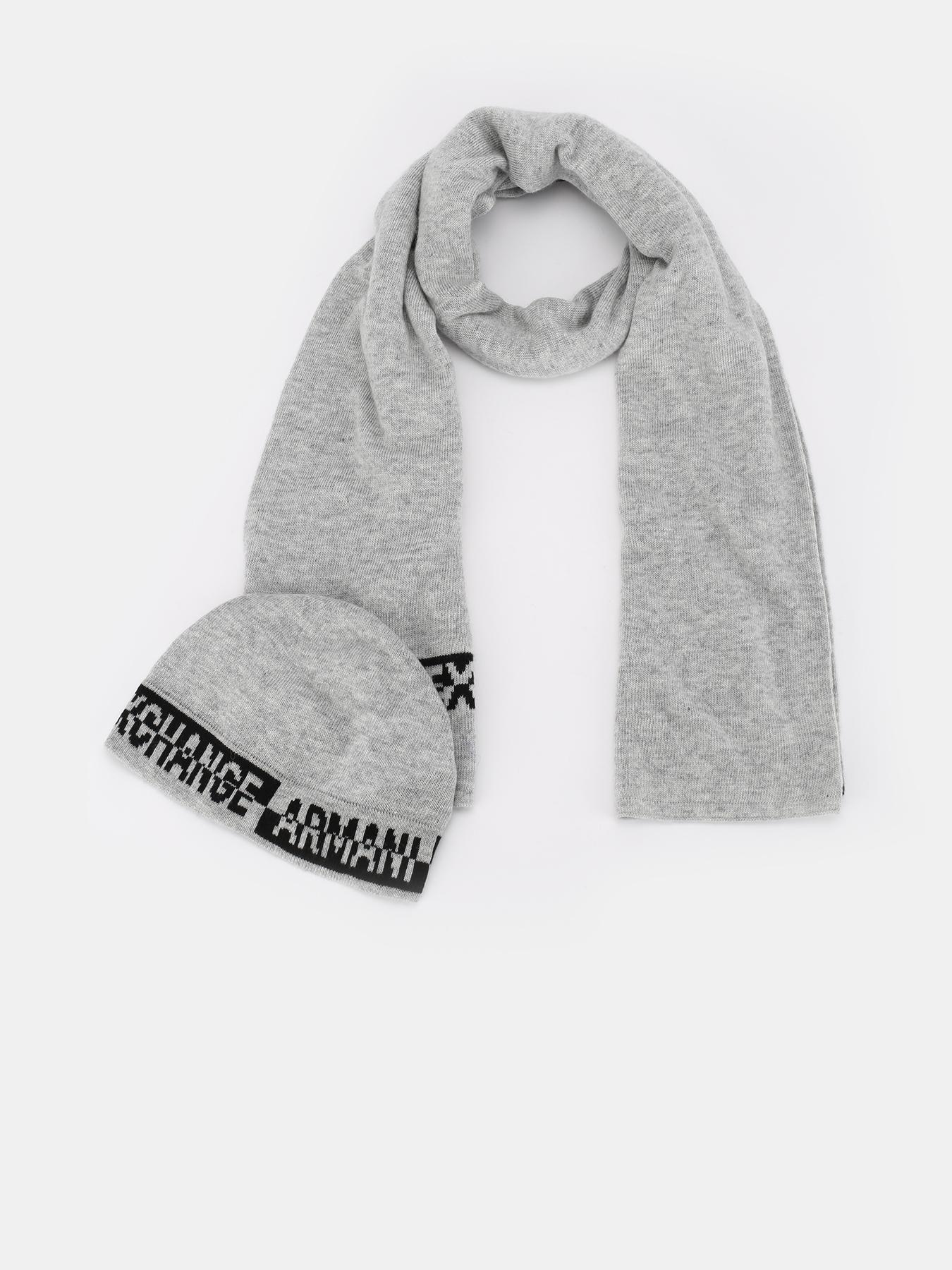 Шапки Armani Exchange Комплект (шапка + шарф)