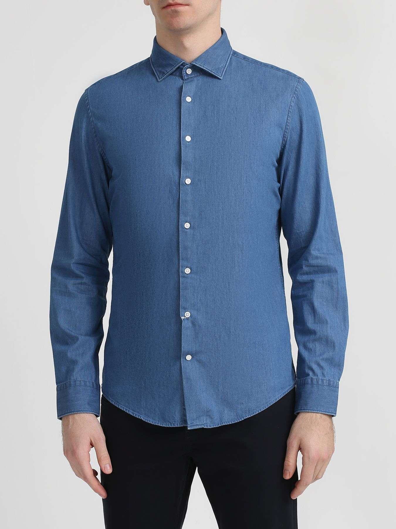 Рубашки Seidensticker Хлопковая рубашка