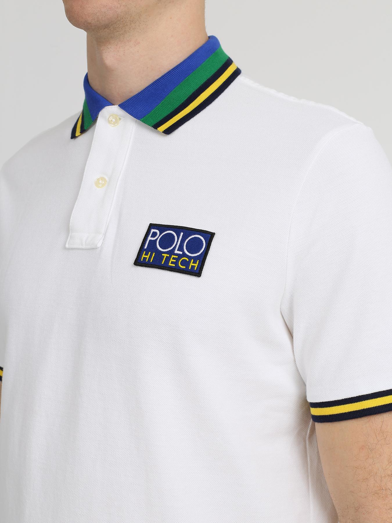 Polo Ralph Lauren Поло с полосками на воротнике 329211-045 Фото 3