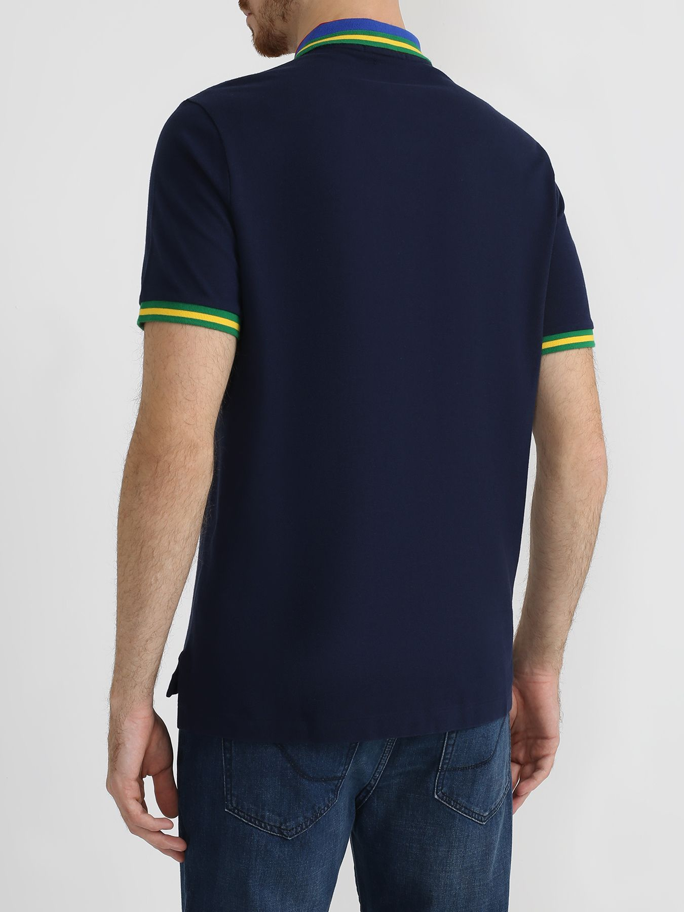 Polo Ralph Lauren Поло с полосками на воротнике 329212-046 Фото 2
