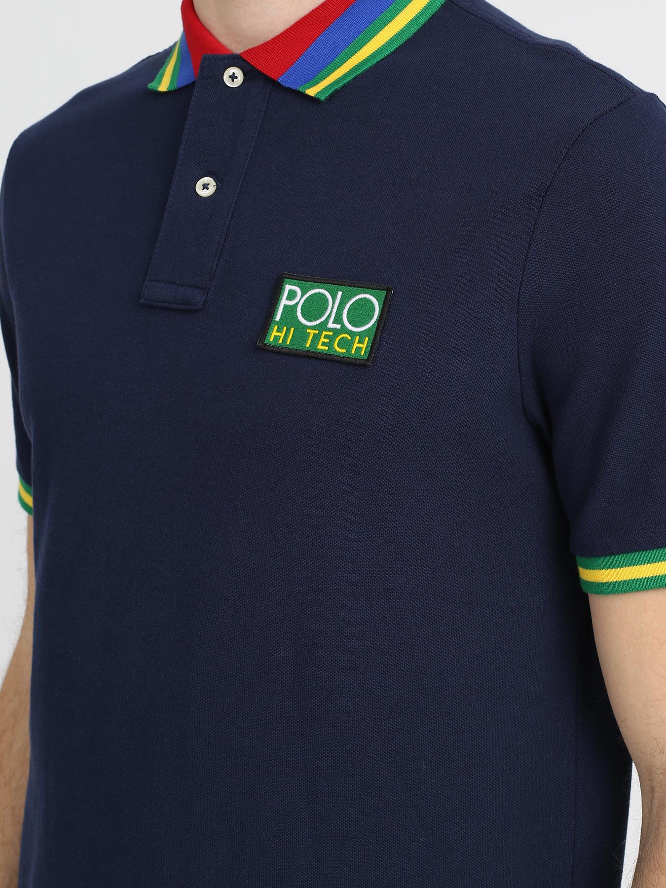 Polo Ralph Lauren Поло с полосками на воротнике 329212-046 Фото 3