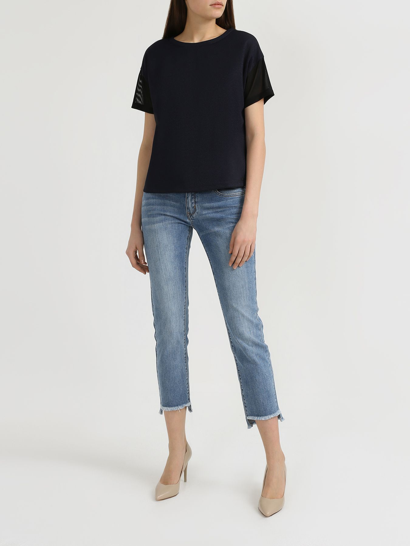 Брюки Korpo Узкие джинсы