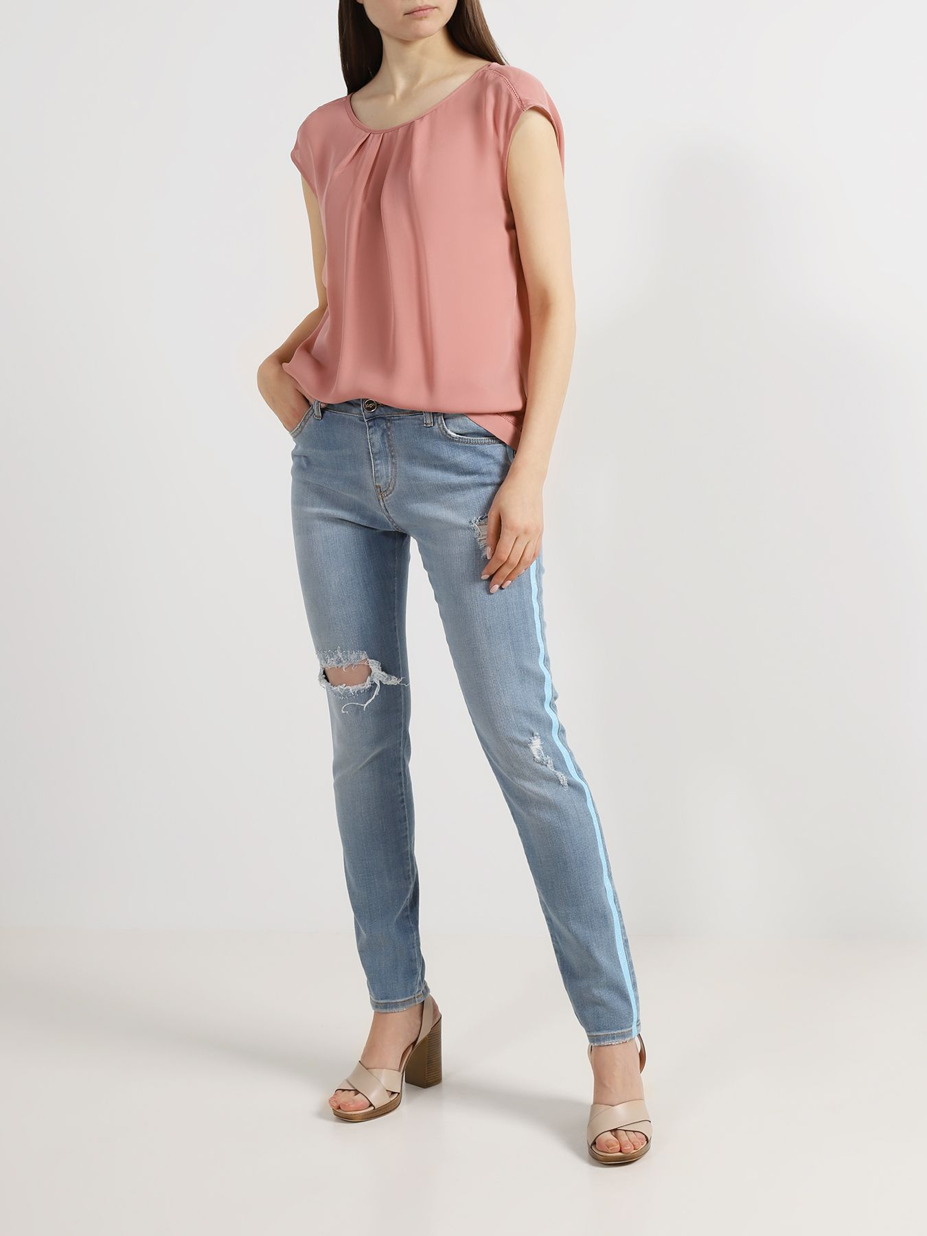 Брюки Blugirl Джинсы джинсы wrangler джинсы arizona