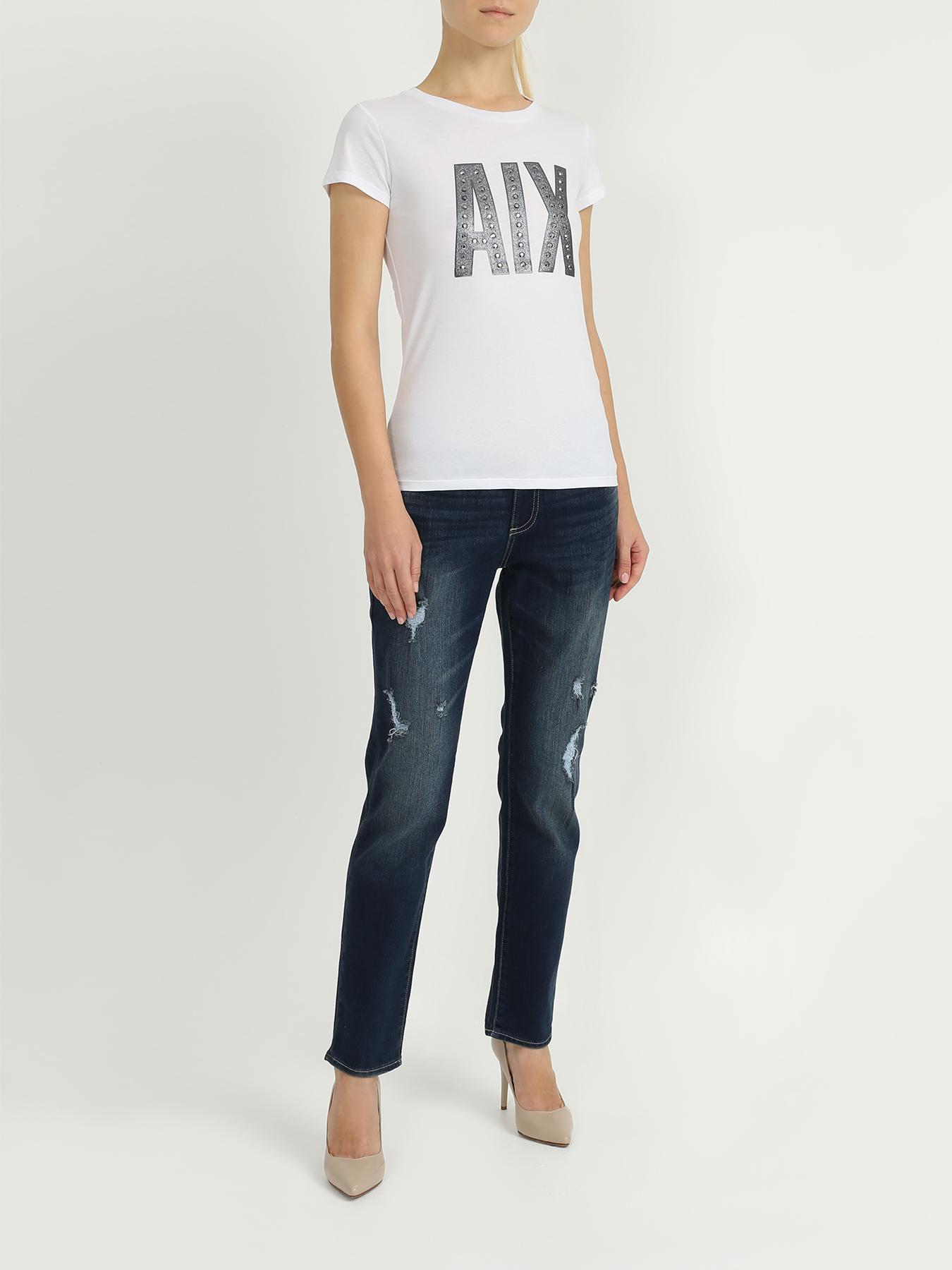 Armani Exchange Потертые джинсы J44 от Armani Exchange