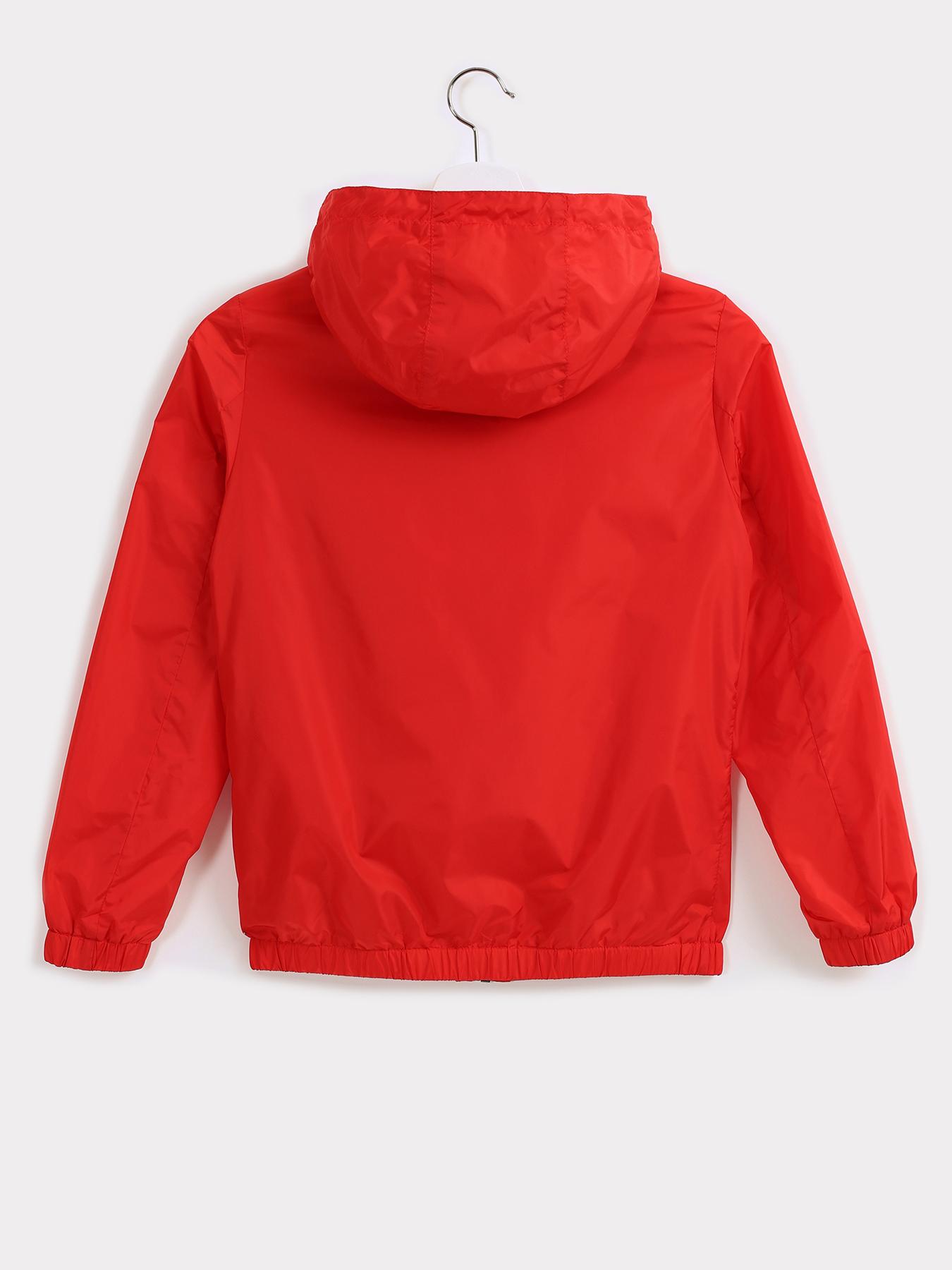 Alessandro Manzoni Kids Легкая куртка с капюшоном фото